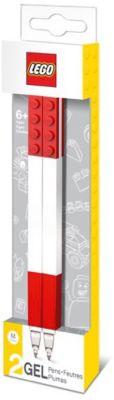 Набор гелевых ручек, 2 шт., LEGO, артикул:5529378 - LEGO Товары для фанатов