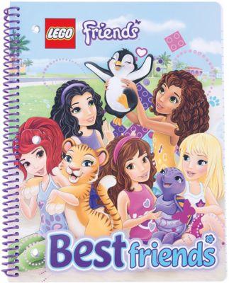 Тетрадь на спирали, 70 листов, линейка, LEGO, артикул:5529379 - LEGO Товары для фанатов