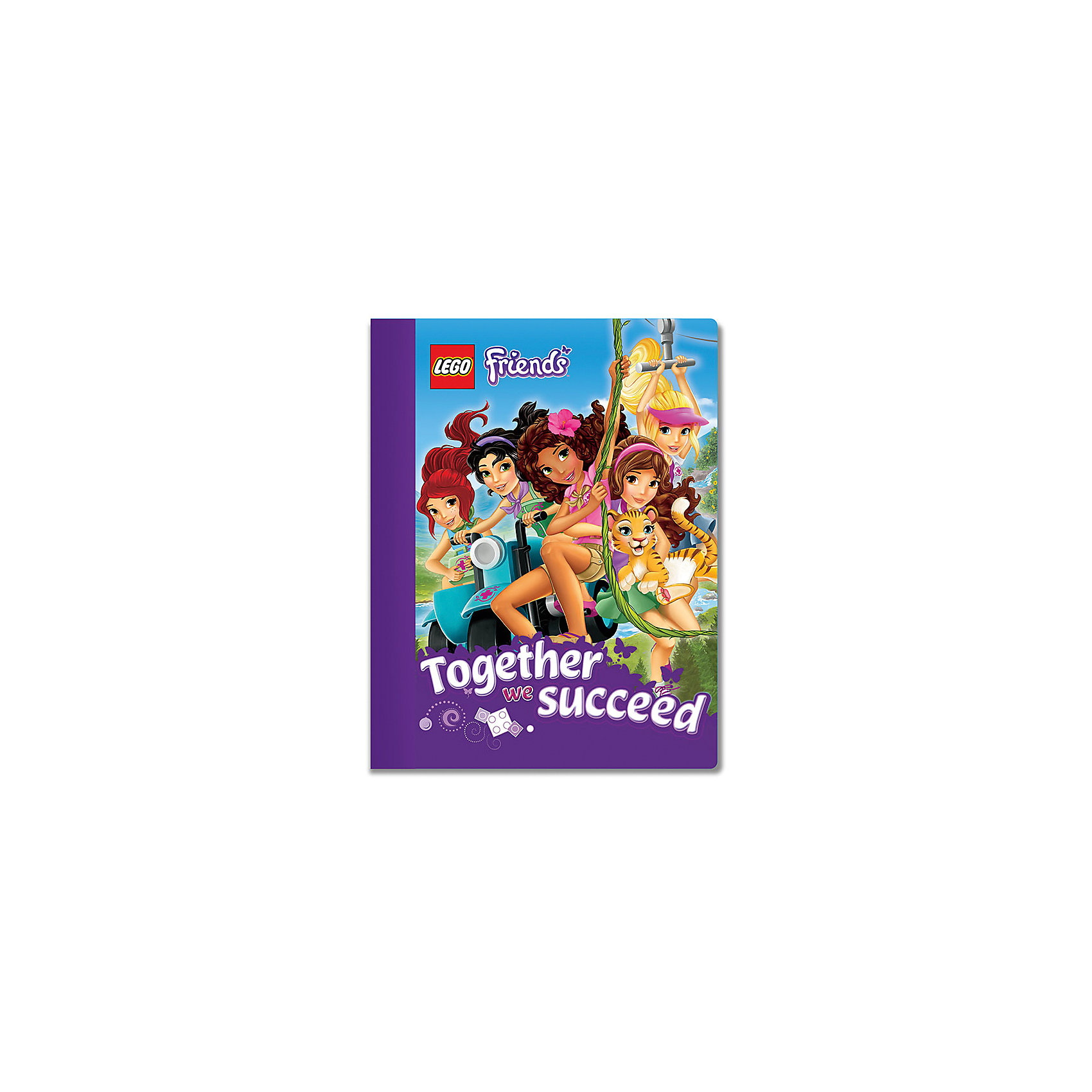 Тетрадь 100 листов, линейка, LEGOLEGO Товары для фанатов<br>Тетрадь в линейку предназначена для школьных занятий и просто для записей. Стильный дизайн обложки, сочетающий различные цвета и изображения любимых персонажей  делает тетрадь подходящей для учениц начальной и средней школы. Плотная обложка из высококачественного картона не даст помяться страничкам.<br><br>Ширина мм: 190<br>Глубина мм: 10<br>Высота мм: 247<br>Вес г: 380<br>Возраст от месяцев: 36<br>Возраст до месяцев: 72<br>Пол: Женский<br>Возраст: Детский<br>SKU: 5529380