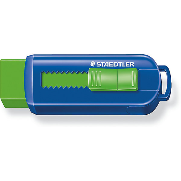 Ластик 525 PS, Staedtler, цвет в ассортиментеЧертежные принадлежности<br>Ластик 525 PS, Staedtler (Штедлер).<br><br>Характеристики:<br><br>• Для детей в возрасте: от 3 лет<br>• Материал: термопластический синтетический каучук<br>• Не содержит ПВХ, а также фталата и латекса<br>• ВНИМАНИЕ! Данный артикул представлен в различном цветовом исполнении. К сожалению, заранее выбрать определенный вариант невозможно. При заказе нескольких ластиков возможно получение одинаковых<br>• Размер упаковки: 86х25х20 мм.<br><br>Ластик в пластиковом корпусе со скользящей пластиковой манжеткой обеспечивает лёгкое и чистое стирание. Количество крошек минимальное. Ластик удобен в использовании благодаря выдвижному механизму. Изготовлен из термопластического синтетического каучука, гипоаллергенен.<br><br>Ластик 525 PS, Staedtler (Штедлер) можно купить в нашем интернет-магазине.<br><br>Ширина мм: 86<br>Глубина мм: 26<br>Высота мм: 220<br>Вес г: 28<br>Возраст от месяцев: 36<br>Возраст до месяцев: 2147483647<br>Пол: Унисекс<br>Возраст: Детский<br>SKU: 5529981