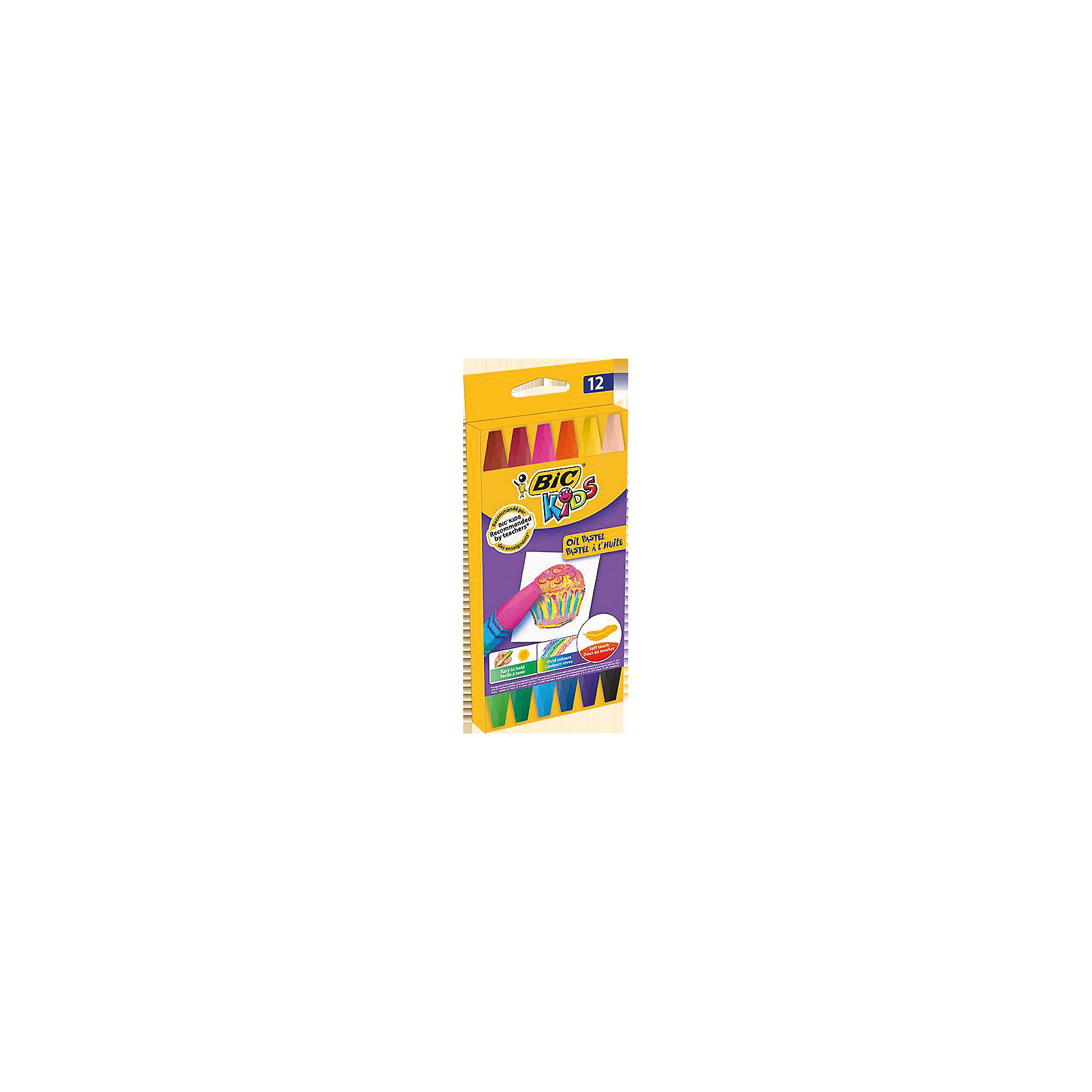 Пастель масляная BIC Kids, 12 цветовПастель Уголь<br>Пастель масляная BIC Kids, 12 цветов.<br><br>Характеристики:<br><br>• Для детей в возрасте: от 3 лет<br>• В наборе: 12 разноцветных пастельных масляных мелков<br>• Упаковка: картонная коробка с европодвесом<br>• Размер упаковки: 20х10х2 см.<br>• Вес: 115 гр.<br><br>Набор пастельных мелков BIC Kids отлично подойдет для начинающих художников. Набор включает 12 разноцветных мелков, каждый из которых завернут в бумажную оболочку. Не крошится при рисовании, мягко ложится на бумагу.<br><br>Пастель масляную BIC Kids, 12 цветов можно купить в нашем интернет-магазине.<br><br>Ширина мм: 16<br>Глубина мм: 90<br>Высота мм: 202<br>Вес г: 107<br>Возраст от месяцев: 36<br>Возраст до месяцев: 192<br>Пол: Унисекс<br>Возраст: Детский<br>SKU: 5530020