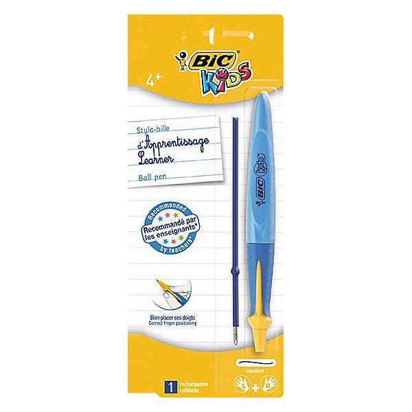 Ручка детская шариковая BIC Kids TWIST, цвет: синийПисьменные принадлежности<br>Ручка детская шариковая BIC Kids TWIST, цвет: синий.<br><br>Характеристики:<br><br>• Для детей в возрасте: от 4 до 10 лет<br>• Цвет чернил: синий<br>• Средняя толщина линии: 0,4 мм.<br>• Материал корпуса: пластик<br>• Цвет корпуса: синий<br>• Размер упаковки: 20х8х2 см.<br><br>Шариковая ручка BIC Kids TWIST разработана специально для детей, обучающихся письму. Ручка подходит левшам и правшам. Выпуклый край поможет правильно расположить ручку в руке. Чернила технологии Easy Glide гарантируют более мягкое письмо. В ручке сменяемый стержень, выдвигающийся с помощью поворота корпуса.<br><br>Ручку детскую шариковую BIC Kids TWIST, цвет: синий можно купить в нашем интернет-магазине.<br><br>Ширина мм: 15<br>Глубина мм: 80<br>Высота мм: 197<br>Вес г: 17<br>Возраст от месяцев: 48<br>Возраст до месяцев: 120<br>Пол: Унисекс<br>Возраст: Детский<br>SKU: 5530021