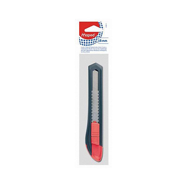 Нож канцелярский START, MAPEDШкольные аксессуары<br>Нож канцелярский START, MAPED (МАПЕД).<br><br>Характеристики:<br><br>• Ширина лезвия: 18 мм.<br>• Материал корпуса: пластик<br>• Металлический механизм<br>• Сменное лезвие<br>• Ручная фиксация лезвия<br>• Встроенный стопор<br><br>Канцелярский нож START в пластиковом корпусе предназначен для резки бумаги, картона и других материалов. Имеет стальное многосекционное лезвие, которое выдвигается и фиксируется с помощью кнопки-фиксатора.<br><br>Нож канцелярский START, MAPED (МАПЕД) можно купить в нашем интернет-магазине.<br>Ширина мм: 240; Глубина мм: 50; Высота мм: 170; Вес г: 44; Возраст от месяцев: 72; Возраст до месяцев: 2147483647; Пол: Унисекс; Возраст: Детский; SKU: 5530051;