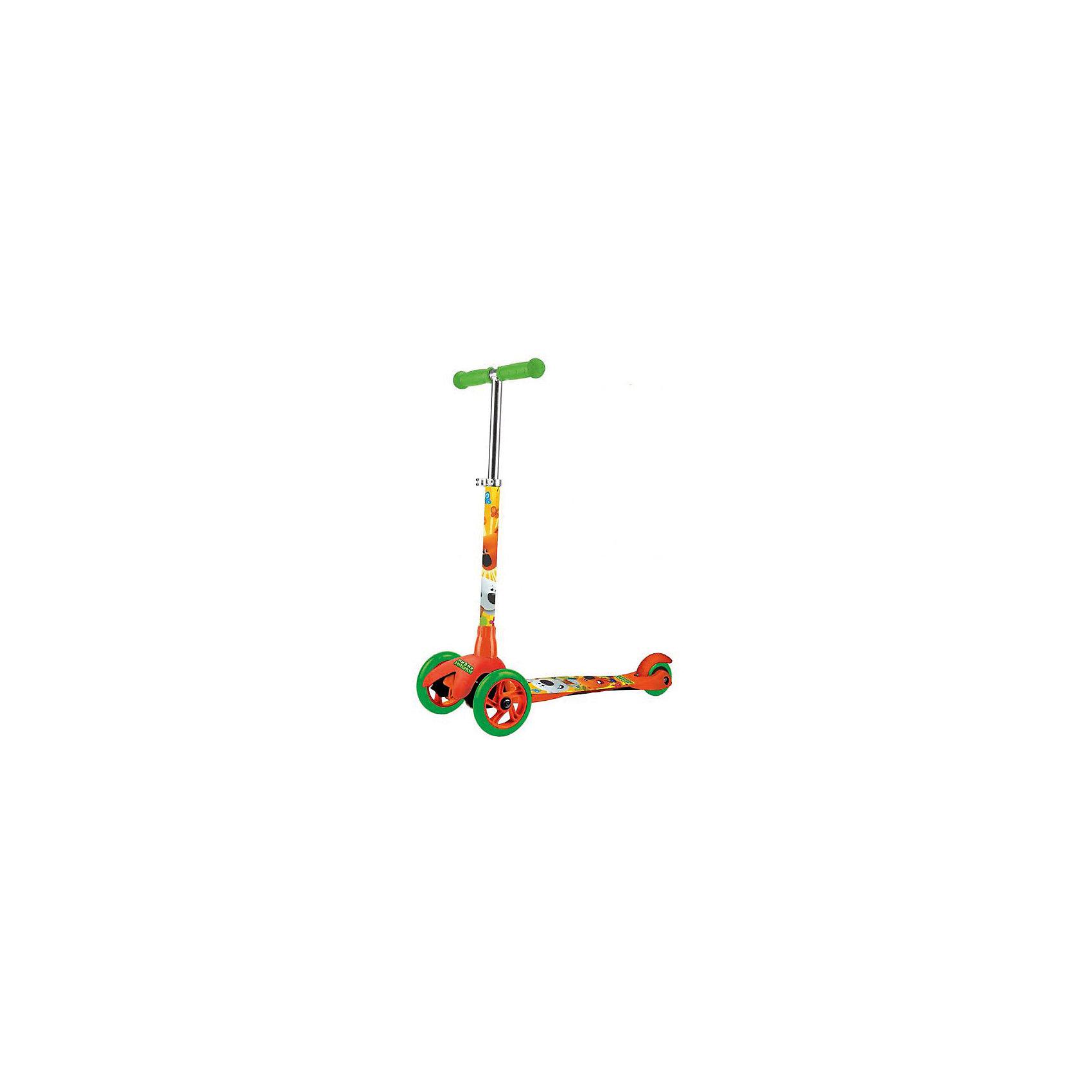 Трехколесный самокат, Ми-Ми Мишки, NextИгрушки<br>Cамокат 3-колесный МиМи Мишки, два колеса впереди- высококачественные полиуретановые (pu) колеса: передние 120 мм (2), заднее 80 мм, - усиленная платформа противоскользящей поверхностью,- материалы: алюминий, полипропилен,- платформа 38 х 11 см,- руль регулируется по высоте (3 положения),- высокоточные подшипники abec-7,- безопасный задний тормоз,- удобные резиновые рукоятки,- максимальная нагрузка: 25 кг.<br><br>Ширина мм: 540<br>Глубина мм: 740<br>Высота мм: 260<br>Вес г: 2300<br>Возраст от месяцев: 24<br>Возраст до месяцев: 72<br>Пол: Унисекс<br>Возраст: Детский<br>SKU: 5530220