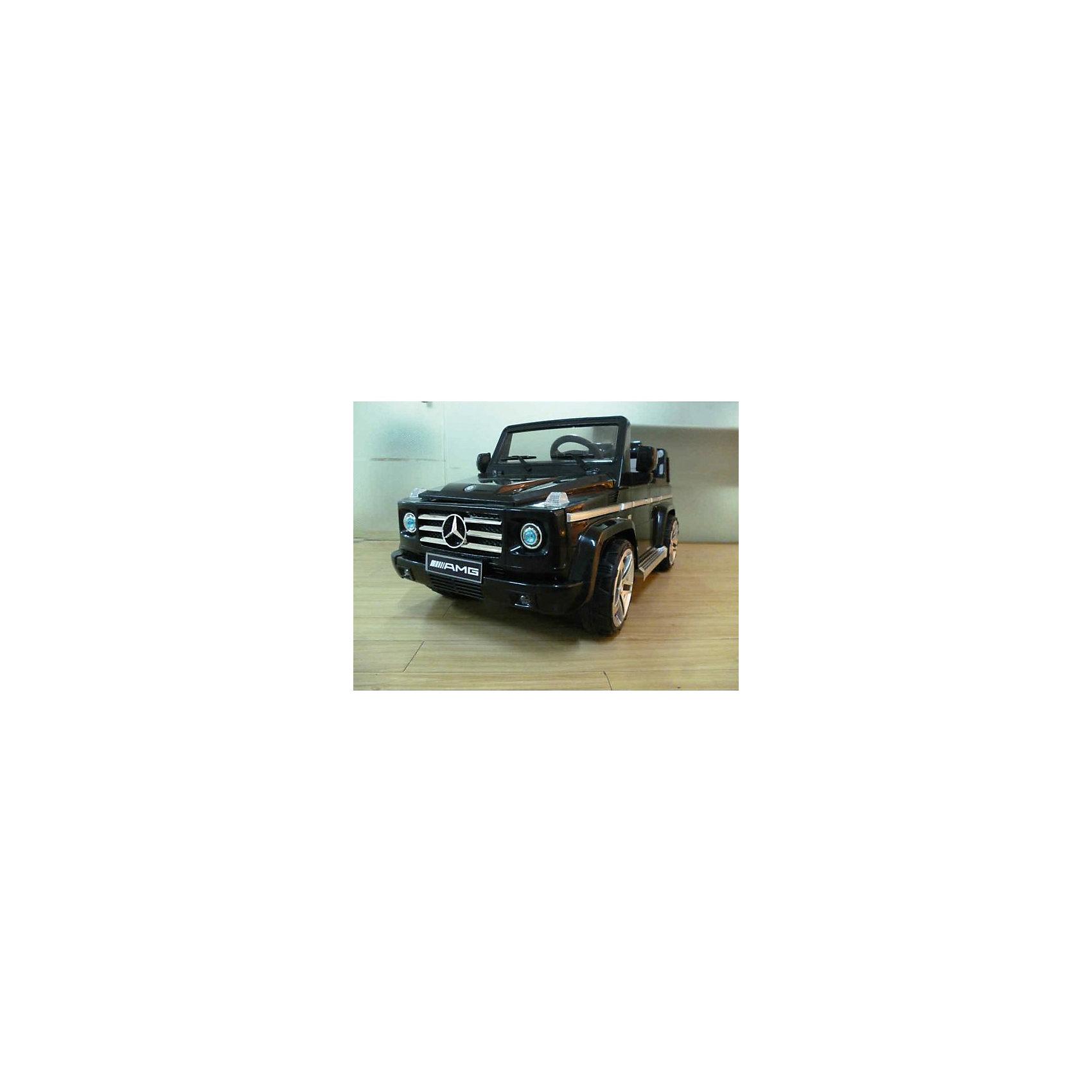 Джип Mercedes-Benz G55 AMG на аккумуляторе, BugatiИгрушки<br>Джип Mercedes-Benz на аккумуляторах с пультом ру- аккумулятор 12v7ah - 2 мотора по 35w- 2 скорости вперед и одна назад- колеса с резиновыми вставками- открываются двери- руль на батарейках- ремни безопасности- индикатор заряда аккумулятора- габариты: 132х66х59 см- максимальная скорость - 6 км/час- максимальная нагрузка - 30 кг- вес-нетто: 19,5 кг.<br><br>Ширина мм: 600<br>Глубина мм: 660<br>Высота мм: 1320<br>Вес г: 23500<br>Возраст от месяцев: 60<br>Возраст до месяцев: 108<br>Пол: Унисекс<br>Возраст: Детский<br>SKU: 5530239