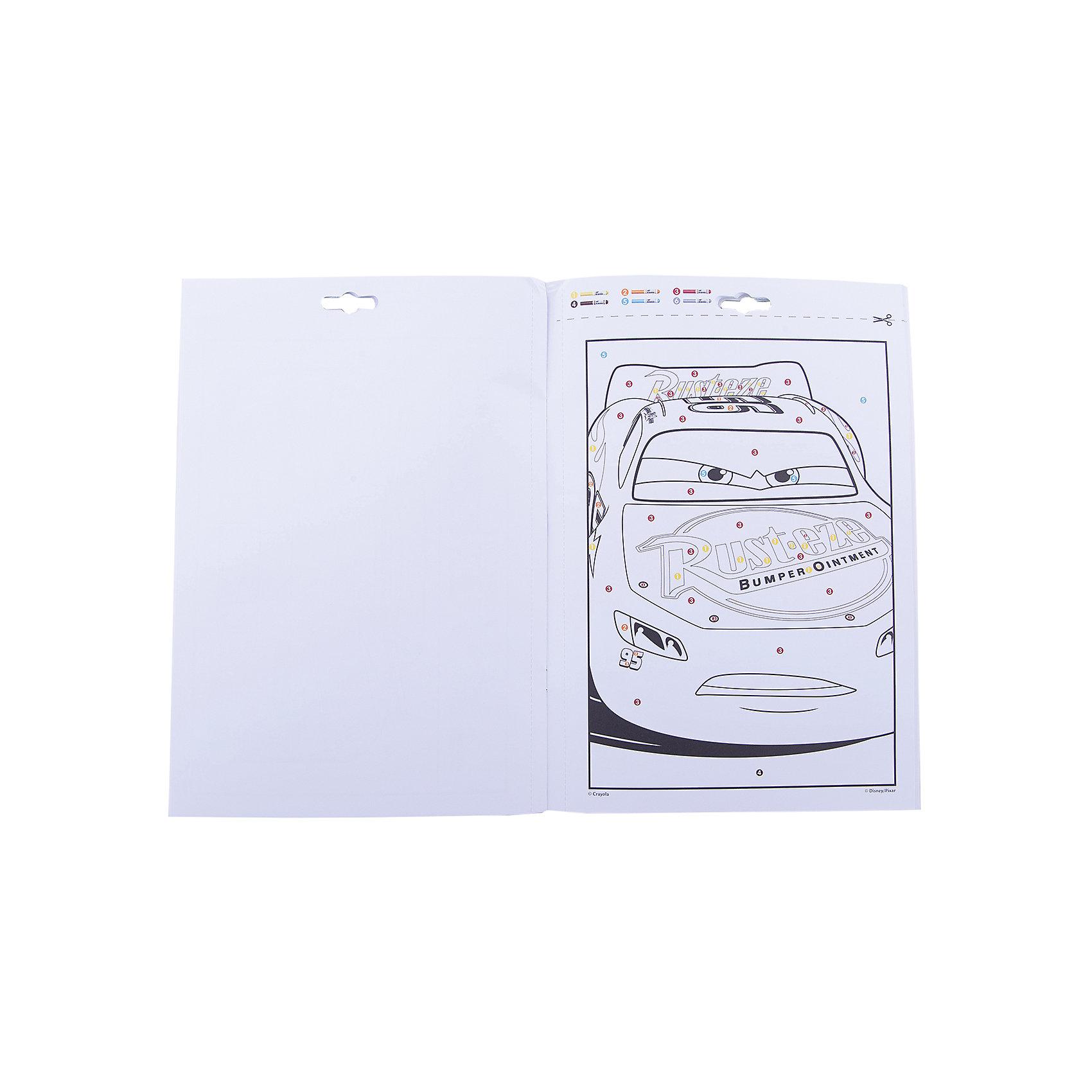 """Раскраска по номерам """"Тачки 3"""" от myToys"""