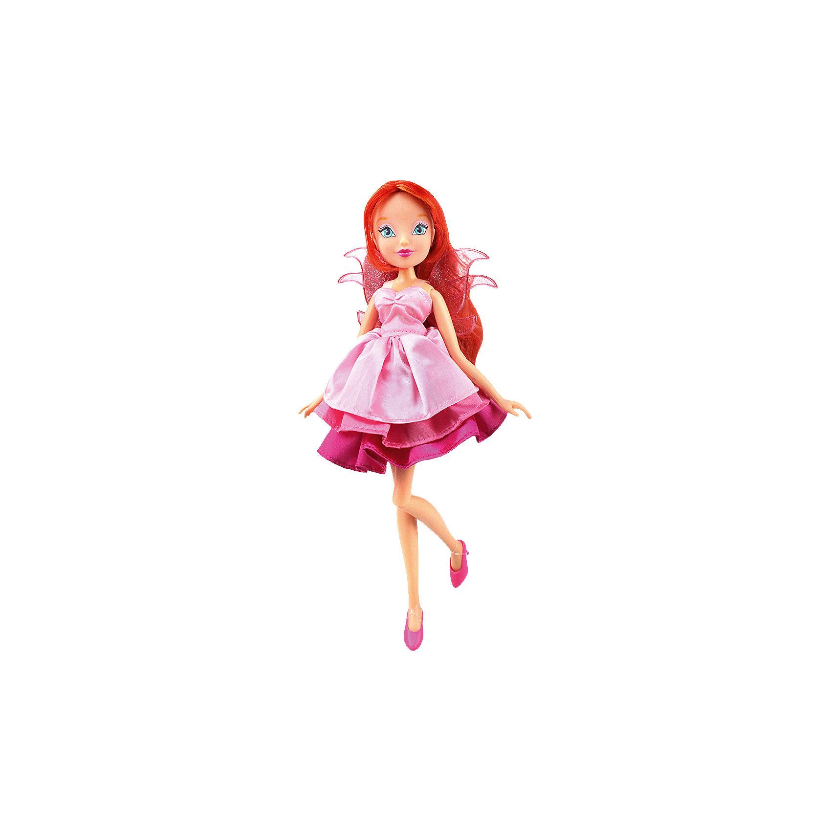 Кукла Блум Волшебное платье, Winx ClubКуклы-модели<br>Doll Winx Club a Magical dress, Bloom<br><br>Ширина мм: 60<br>Глубина мм: 355<br>Высота мм: 210<br>Вес г: 304<br>Возраст от месяцев: 36<br>Возраст до месяцев: 120<br>Пол: Женский<br>Возраст: Детский<br>SKU: 5532625