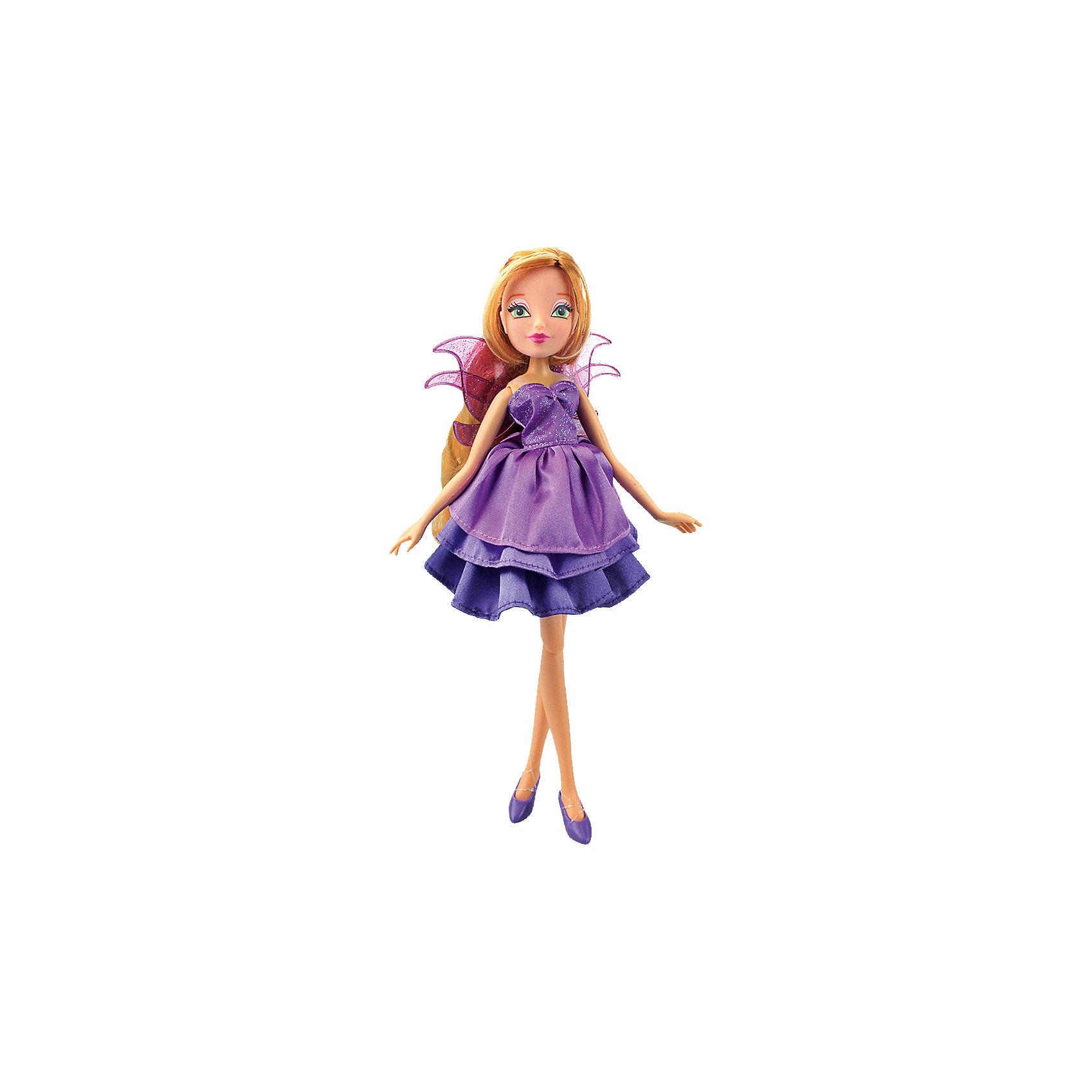 Кукла Флора Волшебное платье, Winx ClubКуклы-модели<br>Doll Winx Club a Magical dress, Flora<br><br>Ширина мм: 60<br>Глубина мм: 355<br>Высота мм: 210<br>Вес г: 304<br>Возраст от месяцев: 36<br>Возраст до месяцев: 120<br>Пол: Женский<br>Возраст: Детский<br>SKU: 5532626