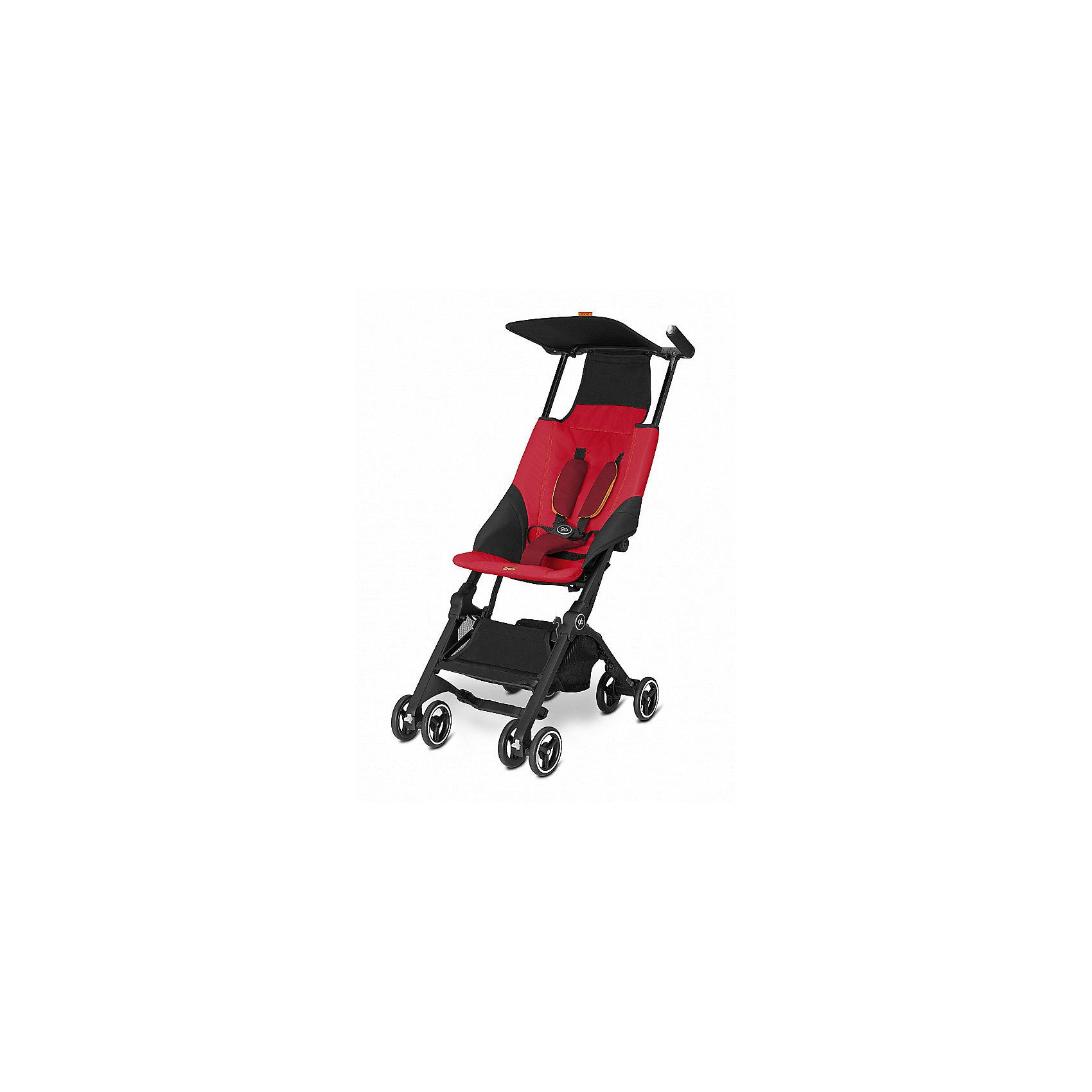 Прогулочная коляска GB pockit, Dragonfire RedПрогулочные коляски<br>Характеристики коляски GB Pockit<br><br>Прогулочный блок:<br><br>• 5-ти точечные ремни безопасности с мягкими съемными накладками на кпопках;<br>• навесной козырек, полностью убирается за спинку коляски;<br>• съемный для стирки чехол прогулочного блока;<br>• материал: пластик, полиэстер.<br><br>Рама коляски:<br><br>• сдвоенные колеса: передние поворотные с блокировкой, задние оснащены тормозом;<br>• имеется корзина для покупок, объем 8 л;<br>• компактное складывание с защитой от раскладывания;<br>• 2 способа складывания;<br>• механизм складывания: книжка, колеса обращены друг к другу;<br>• материал: алюминий.<br><br>Допустимая нагрузка: до 17 кг<br>Размер коляски: 72х43х99 см<br>Размер коляски в сложенном виде: 30х18х35 см<br>Размер упаковки: 90х40х40 см<br>Вес коляски: 4,3 кг<br>Вес в упаковке: 6 кг<br><br>Супер компактная коляска Pockit в сложенном виде напоминает женскую сумку. Колеса направлены внутрь, коляска в сложенном виде фиксируется с помощью специального механизма. Прогулочный блок оснащен ремнями безопасности, которые снабжены съемными плечевыми накладками. Козырек от солнца можно полностью убрать за спинку коляски. Корзина используется для транспортировки детских игрушек или немногочисленных покупок. <br><br>Прогулочную коляску pockit, GB, Dragonfire Red можно купить в нашем интернет-магазине.<br><br>Ширина мм: 900<br>Глубина мм: 400<br>Высота мм: 400<br>Вес г: 6000<br>Возраст от месяцев: 6<br>Возраст до месяцев: 36<br>Пол: Унисекс<br>Возраст: Детский<br>SKU: 5532641