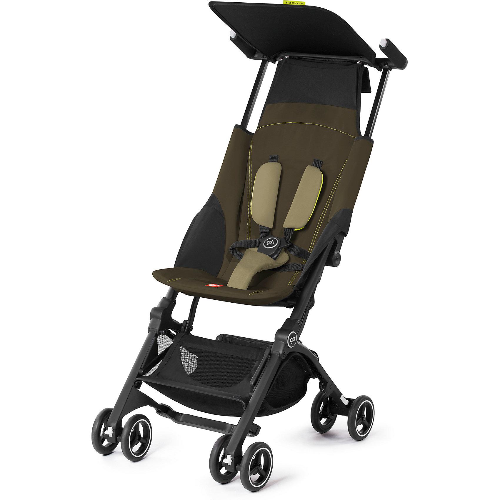 Прогулочная коляска GB pockit, Lizard KhakiПрогулочные коляски<br>Характеристики коляски GB Pockit<br><br>Прогулочный блок:<br><br>• 5-ти точечные ремни безопасности с мягкими съемными накладками на кпопках;<br>• навесной козырек, полностью убирается за спинку коляски;<br>• съемный для стирки чехол прогулочного блока;<br>• материал: пластик, полиэстер.<br><br>Рама коляски:<br><br>• сдвоенные колеса: передние поворотные с блокировкой, задние оснащены тормозом;<br>• имеется корзина для покупок, объем 8 л;<br>• компактное складывание с защитой от раскладывания;<br>• 2 способа складывания;<br>• механизм складывания: книжка, колеса обращены друг к другу;<br>• материал: алюминий.<br><br>Допустимая нагрузка: до 17 кг<br>Размер коляски: 72х43х99 см<br>Размер коляски в сложенном виде: 30х18х35 см<br>Размер упаковки: 90х40х40 см<br>Вес коляски: 4,3 кг<br>Вес в упаковке: 6 кг<br><br>Супер компактная коляска Pockit в сложенном виде напоминает женскую сумку. Колеса направлены внутрь, коляска в сложенном виде фиксируется с помощью специального механизма. Прогулочный блок оснащен ремнями безопасности, которые снабжены съемными плечевыми накладками. Козырек от солнца можно полностью убрать за спинку коляски. Корзина используется для транспортировки детских игрушек или немногочисленных покупок. <br><br>Прогулочную коляску pockit, GB, Lizard Khaki можно купить в нашем интернет-магазине.<br><br>Ширина мм: 900<br>Глубина мм: 400<br>Высота мм: 400<br>Вес г: 6000<br>Возраст от месяцев: 6<br>Возраст до месяцев: 36<br>Пол: Унисекс<br>Возраст: Детский<br>SKU: 5532642