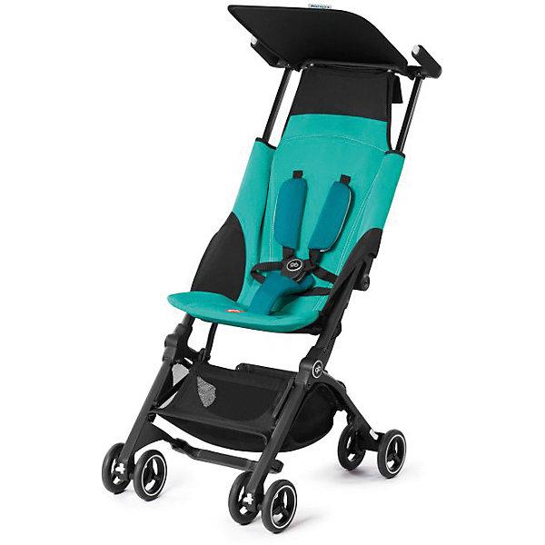 Прогулочная коляска GB pockit +, Capri BlueПрогулочные коляски<br>Характеристики коляски GB Pockit+<br><br>Прогулочный блок:<br><br>• 2 положения спинки коляски: сидя и полусидя;<br>• 5-ти точечные ремни безопасности с мягкими съемными накладками на кпопках;<br>• навесной козырек, полностью убирается за спинку коляски;<br>• съемный для стирки чехол прогулочного блока;<br>• материал: пластик, полиэстер.<br><br>Рама коляски:<br><br>• сдвоенные колеса: передние поворотные с блокировкой, задние оснащены тормозом;<br>• имеется корзина для покупок, объем 8 л;<br>• компактное складывание с защитой от раскладывания;<br>• 2 способа складывания;<br>• механизм складывания: книжка, колеса обращены друг к другу;<br>• материал: алюминий.<br><br>Допустимая нагрузка: до 17 кг<br>Размер коляски: 72х43х99 см<br>Размер коляски в сложенном виде: 30х18х35 см<br>Размер упаковки: 90х40х40 см<br>Вес коляски: 4,3 кг<br>Вес в упаковке: 6 кг<br><br>Супер компактная коляска Pockit+ в сложенном виде напоминает женскую сумку. Колеса направлены внутрь, коляска в сложенном виде фиксируется с помощью специального механизма. В отличии от модели Pockit, спинка коляски опускается на одну позицию, ребенок может занять положние сидя и полусидя.  Прогулочный блок оснащен ремнями безопасности, которые снабжены съемными плечевыми накладками. Козырек от солнца можно полностью убрать за спинку коляски. Корзина используется для транспортировки детских игрушек или немногочисленных покупок. <br><br>Прогулочную коляску pockit +, GB, Capri Blue можно купить в нашем интернет-магазине.<br><br>Ширина мм: 900<br>Глубина мм: 400<br>Высота мм: 400<br>Вес г: 6000<br>Цвет: бирюзовый<br>Возраст от месяцев: 6<br>Возраст до месяцев: 36<br>Пол: Унисекс<br>Возраст: Детский<br>SKU: 5532646