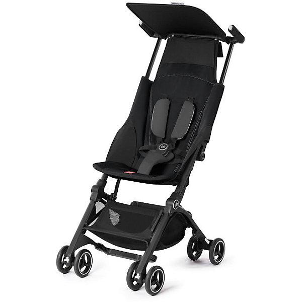 Прогулочная коляска GB pockit +, Monnument BlackПрогулочные коляски<br>Характеристики коляски GB Pockit+<br><br>Прогулочный блок:<br><br>• 2 положения спинки коляски: сидя и полусидя;<br>• 5-ти точечные ремни безопасности с мягкими съемными накладками на кпопках;<br>• навесной козырек, полностью убирается за спинку коляски;<br>• съемный для стирки чехол прогулочного блока;<br>• материал: пластик, полиэстер.<br><br>Рама коляски:<br><br>• сдвоенные колеса: передние поворотные с блокировкой, задние оснащены тормозом;<br>• имеется корзина для покупок, объем 8 л;<br>• компактное складывание с защитой от раскладывания;<br>• 2 способа складывания;<br>• механизм складывания: книжка, колеса обращены друг к другу;<br>• материал: алюминий.<br><br>Допустимая нагрузка: до 17 кг<br>Размер коляски: 72х43х99 см<br>Размер коляски в сложенном виде: 30х18х35 см<br>Размер упаковки: 90х40х40 см<br>Вес коляски: 4,3 кг<br>Вес в упаковке: 6 кг<br><br>Супер компактная коляска Pockit+ в сложенном виде напоминает женскую сумку. Колеса направлены внутрь, коляска в сложенном виде фиксируется с помощью специального механизма. В отличии от модели Pockit, спинка коляски опускается на одну позицию, ребенок может занять положние сидя и полусидя.  Прогулочный блок оснащен ремнями безопасности, которые снабжены съемными плечевыми накладками. Козырек от солнца можно полностью убрать за спинку коляски. Корзина используется для транспортировки детских игрушек или немногочисленных покупок. <br><br>Прогулочную коляску pockit +, GB, Monnument Black можно купить в нашем интернет-магазине.<br><br>Ширина мм: 900<br>Глубина мм: 400<br>Высота мм: 400<br>Вес г: 6000<br>Цвет: черный<br>Возраст от месяцев: 6<br>Возраст до месяцев: 36<br>Пол: Унисекс<br>Возраст: Детский<br>SKU: 5532649
