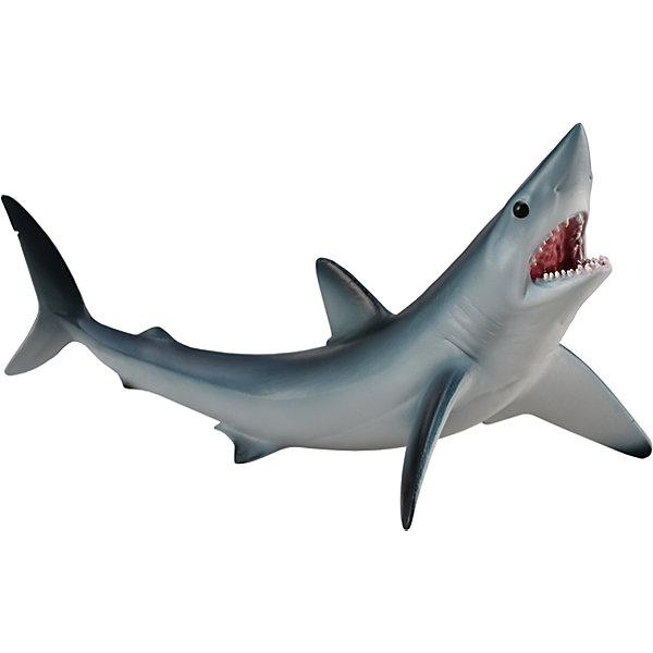 Акула Мако, M, CollectaМир животных<br>Фигурка Акула мако от компании&amp;nbsp;Collecta представляет собой уменьшенную копию крупного морского хищника. Она обитает в открытом океане и развивает самую высокую скорость среди своих сородичей. Дизайн серо-голубой фигурки тщательно продуман и в точности повторяет анатомические особенности настоящей акулы.<br><br>Длина товара: 13 см<br>Ширина товара: 7 см<br>Высота товара: 7.5 см<br><br>Материал: пластик<br><br>&amp;nbsp;<br>Ширина мм: 200; Глубина мм: 10; Высота мм: 10; Вес г: 11; Возраст от месяцев: 36; Возраст до месяцев: 192; Пол: Унисекс; Возраст: Детский; SKU: 5534532;