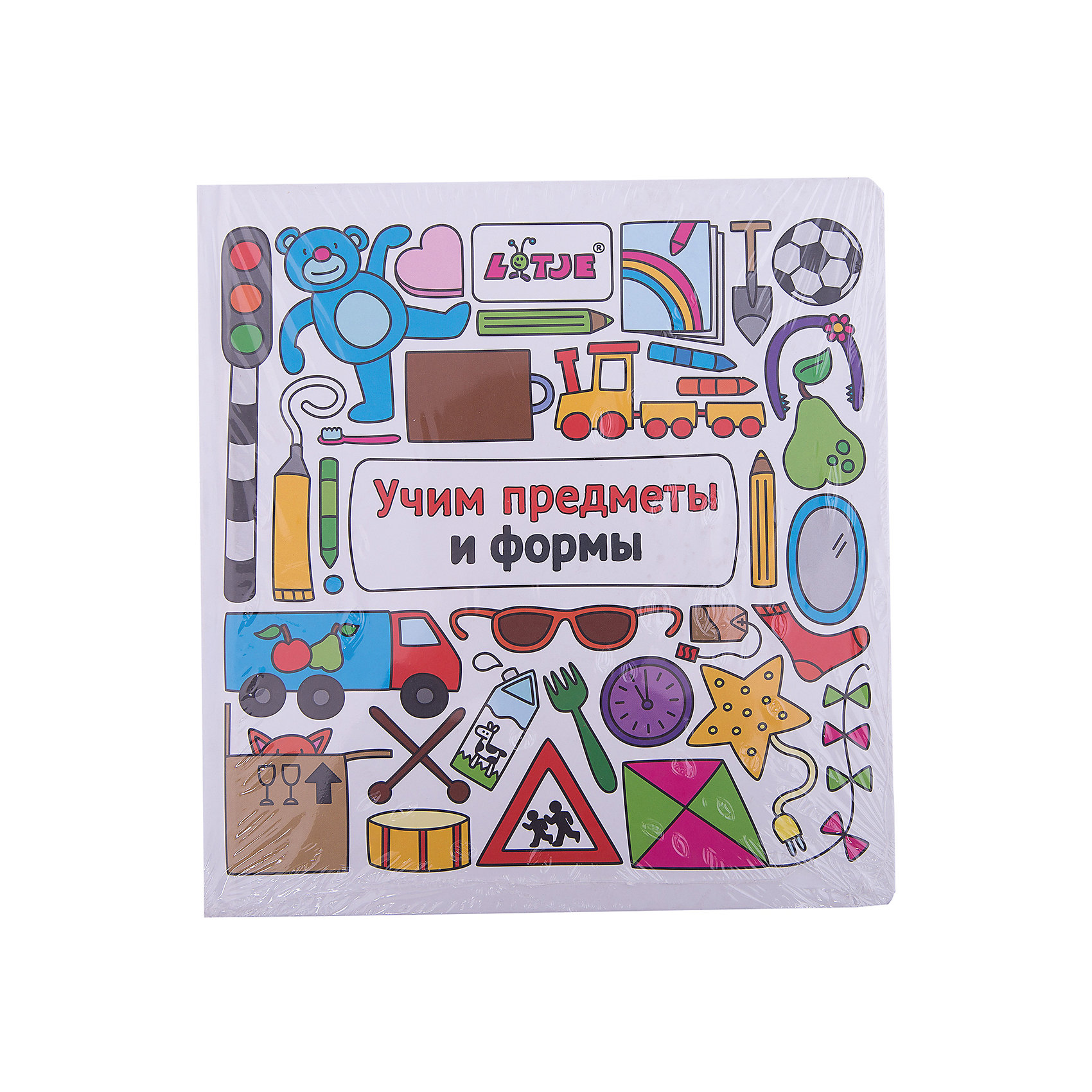 Учим предметы и формыИзучаем цвета и формы<br>Эта красочная книжка о цветах и числах с весёлыми заданиями поможет малышам от трёх лет развить речь, научиться считать и различать цвета.<br><br>Ширина мм: 227<br>Глубина мм: 215<br>Высота мм: 110<br>Вес г: 358<br>Возраст от месяцев: 36<br>Возраст до месяцев: 168<br>Пол: Унисекс<br>Возраст: Детский<br>SKU: 5535122