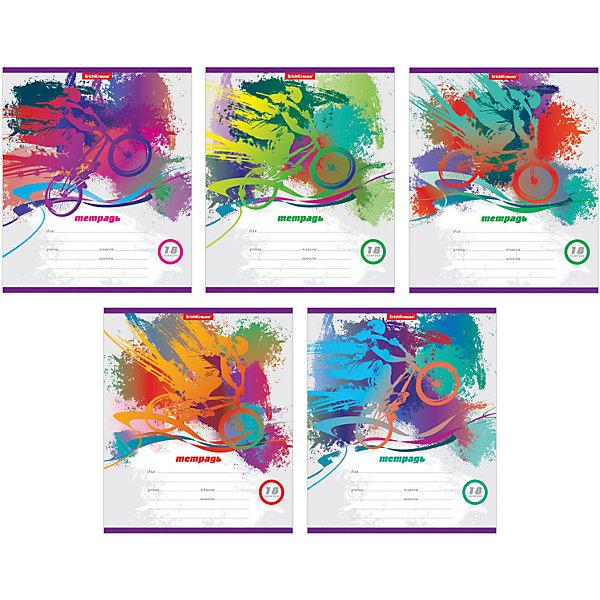Тетрадь 18 листов Велопробег, упаковка из 10 шт.Бумажная продукция<br>Тетрадь 18 листов Велопробег, 10 шт.<br><br>Характеристики:<br><br>• Количество: 10 шт.<br>• Формат: А5<br>• Внутренний блок: 18 листов, линейка, офсет<br>• Тип крепления: скрепка<br>• Обложка: мелованный картон<br>• В упаковке: 5 видов тетрадей<br><br>Тетради в линейку Велопробег предназначены для школьников. Отличная полиграфия и качественная бумага обеспечат высокое качество письма. Обложка из мелованного картона позволит сохранять тетрадь в аккуратном виде в течение всего периода использования.<br><br>Тетрадь 18 листов Велопробег, 10 шт. можно купить в нашем интернет-магазине.<br>Ширина мм: 170; Глубина мм: 30; Высота мм: 205; Вес г: 461; Возраст от месяцев: 60; Возраст до месяцев: 204; Пол: Унисекс; Возраст: Детский; SKU: 5540093;