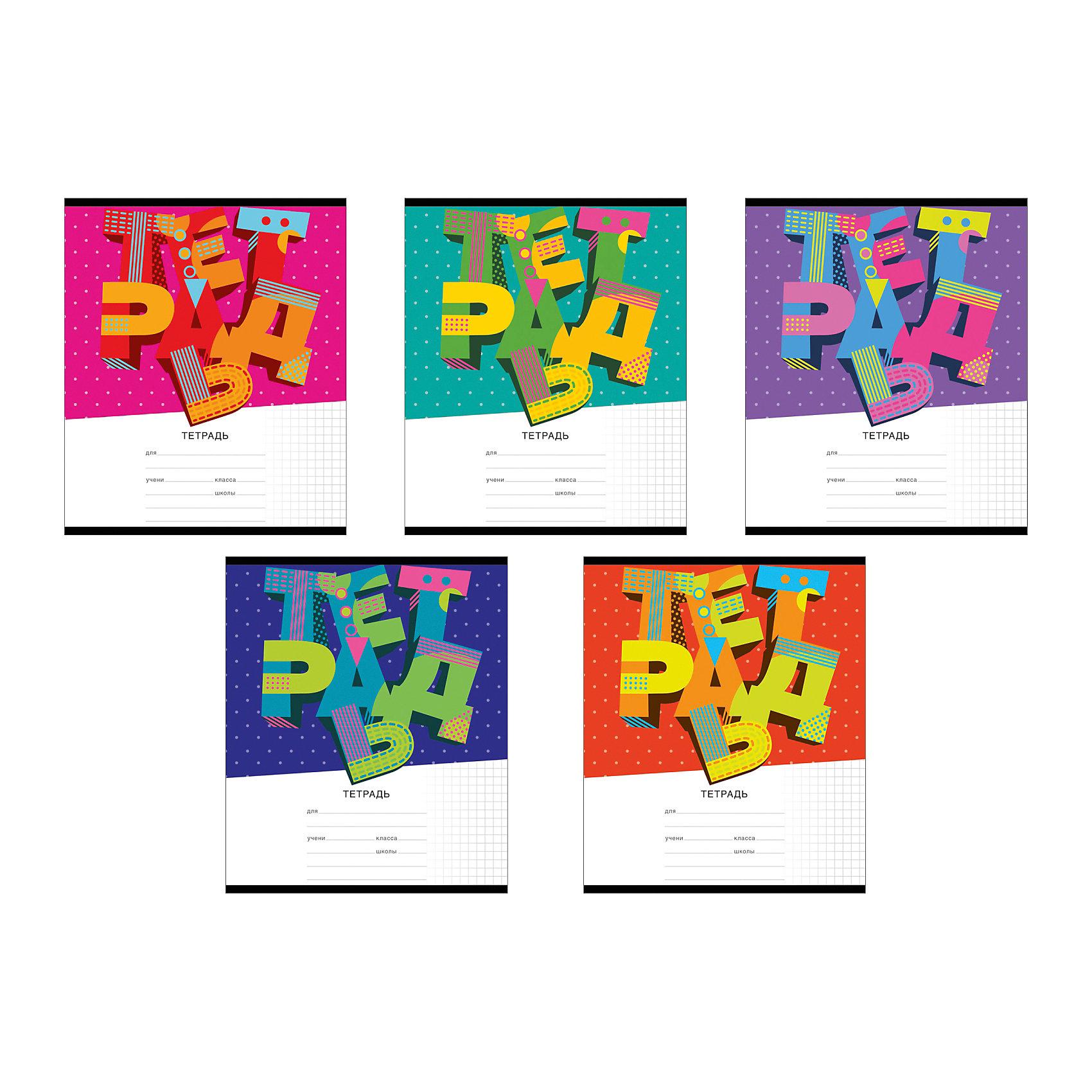 Тетрадь 24 листа 3D Letters, упаковка из 10 шт.Бумажная продукция<br>Тетрадь 24 листа 3D Letters, 10 шт.<br><br>Характеристики:<br><br>• Количество: 10 шт.<br>• Формат: А5<br>• Внутренний блок: 24 листа, клетка, офсет<br>• Тип крепления: скрепка<br>• Обложка: мелованный картон<br><br>Тетради в клетку 3D Letters предназначены для школьников. Отличная полиграфия и качественная бумага обеспечат высокое качество письма. Обложка из мелованного картона позволит сохранять тетрадь в аккуратном виде в течение всего периода использования.<br><br>Тетрадь 24 листа 3D Letters, 10 шт. можно купить в нашем интернет-магазине.<br><br>Ширина мм: 170<br>Глубина мм: 40<br>Высота мм: 205<br>Вес г: 582<br>Возраст от месяцев: 60<br>Возраст до месяцев: 204<br>Пол: Унисекс<br>Возраст: Детский<br>SKU: 5540098