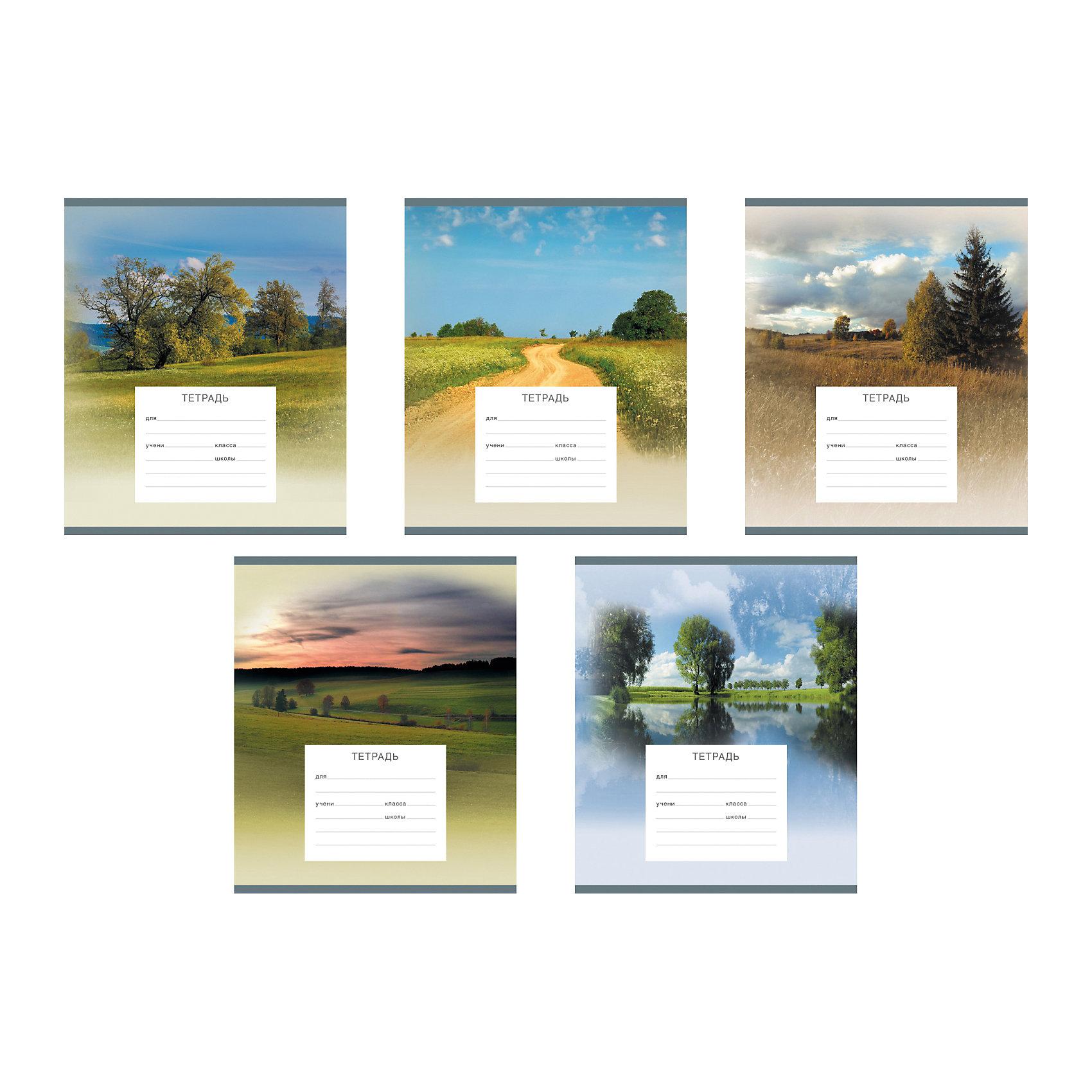 Тетрадь 24 листа Родные просторы, упаковка из 10 шт.Бумажная продукция<br>Тетрадь 24 листа Родные просторы, 10 шт.<br><br>Характеристики:<br><br>• Количество: 10 шт.<br>• Формат: А5<br>• Внутренний блок: 24 листа, линейка, офсет<br>• Тип крепления: скрепка<br>• Обложка: мелованный картон<br>• Упаковка: термопленка<br><br>Тетради в линейку Родные просторы предназначены для школьников. Отличная полиграфия и качественная бумага обеспечат высокое качество письма. Обложка из мелованного картона позволит сохранять тетрадь в аккуратном виде в течение всего периода использования. На задней обложке тетради – русский и английский алфавит.<br><br>Тетрадь 24 листа Родные просторы, 10 шт. можно купить в нашем интернет-магазине.<br><br>Ширина мм: 170<br>Глубина мм: 40<br>Высота мм: 205<br>Вес г: 582<br>Возраст от месяцев: 60<br>Возраст до месяцев: 204<br>Пол: Унисекс<br>Возраст: Детский<br>SKU: 5540103
