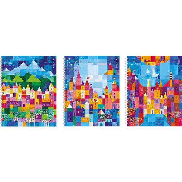 Тетрадь А4 120 листов Домики, упаковка из 2 шт.Бумажная продукция<br>Тетрадь А4 120 листов Домики, 2 шт.<br><br>Характеристики:<br><br>• Количество: 2 шт.<br>• Формат: А4<br>• Внутренний блок: 120 листов, клетка, с полями, офсет<br>• Тип крепления: евроспираль<br>• Обложка: картон жесткий ламинированный, глянцевая ламинация<br>• Особенности: перфорация на отрыв<br><br>Комплект тетрадей в клетку с полями «Домики» выполнен в формате А4. Отличная полиграфия и качественная бумага обеспечат высокое качество письма. Обложка изготовлена из жесткого ламинированного картона, что позволит сохранять тетрадь в аккуратном виде в течение всего периода использования. Практичное и надежное крепление – евроспираль - позволит полностью открывать тетрадь и легко отрывать листы.<br><br>Тетрадь А4 120 листов Домики, 2 шт. можно купить в нашем интернет-магазине.<br>Ширина мм: 240; Глубина мм: 180; Высота мм: 300; Вес г: 2380; Возраст от месяцев: 60; Возраст до месяцев: 204; Пол: Унисекс; Возраст: Детский; SKU: 5540125;