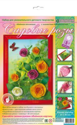 Клевер Набор для изготовления картины Садовые розы