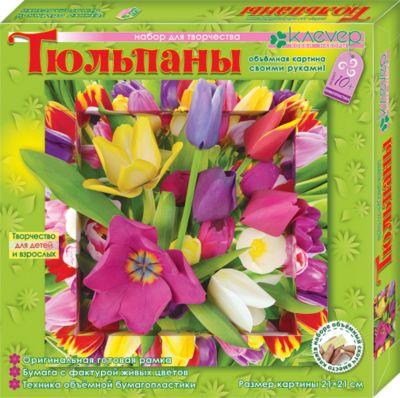 Клевер Набор для изготовления картины Тюльпаны
