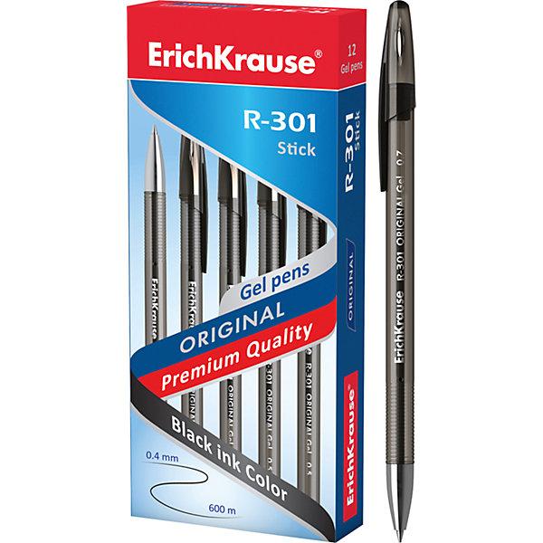 Ручка гелевая R-301 ORIGINAL Gel 0.5, 12 шт., Erich KrauseПисьменные принадлежности<br>Ручка гелевая R-301 ORIGINAL Gel 0.5, 12 шт., Erich Krause.<br><br>Характеристики:<br><br>• Количество: 12 шт.<br>• Материал: пластик<br>• Сменный стержень<br>• Пишущий узел: 0,5 мм.<br>• Толщина линии: 0,4 мм.<br>• Длина непрерывной линии: 600 м.<br>• Цвет чернил: черный<br><br>Удобная гелевая ручка из полупрозрачного тонированного пластика с металлизированным наконечником обеспечивает чистое и четкое письмо.<br><br>Ручку гелевую R-301 ORIGINAL Gel 0.5, 12 шт., Erich Krause можно купить в нашем интернет-магазине.<br><br>Ширина мм: 70<br>Глубина мм: 155<br>Высота мм: 250<br>Вес г: 120<br>Возраст от месяцев: 84<br>Возраст до месяцев: 2147483647<br>Пол: Унисекс<br>Возраст: Детский<br>SKU: 5543293