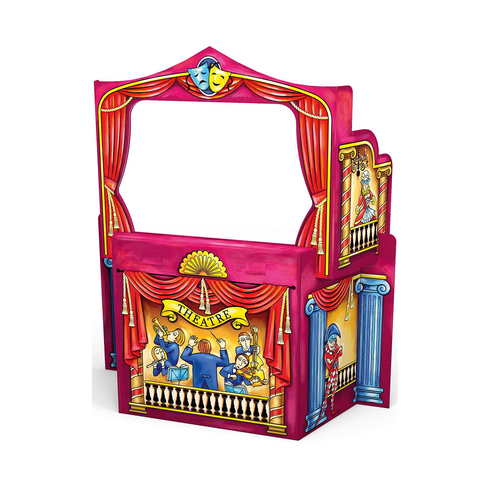 Игровой конструктор  для раскрашивания Кукольный театр,  Artberry от ErichKrauseНаборы для раскрашивания<br>Игровой конструктор для раскрашивания Puppet Theatre, Artberry, Erich Krause.<br><br>Характеристики:<br><br>• Для детей в возрасте: от 3 лет<br>• Комплектация: детали для сборки кукольного театра 6 шт, гелевые цветные мелки 6 шт.<br>• Размер в собранном виде: 120х39х108 см.<br>• Материал: картон<br>• Размер упаковки: 93х62х4 см.<br>• Вес: 1,75 кг.<br><br>С конструктором Puppet Theatre от Erich Krause ваш ребенок соберет кукольный театр и раскрасит его супер яркими гелевыми мелками. Сборка не требует клея и ножниц. Собранный кукольный театр имеет достаточно устойчивую конструкцию. Игровой конструктор для раскрашивания Puppet Theatre, Artberry, Erich Krause поможет развить не только творческие способности ребенка, но и мелкую моторику, художественный вкус, логику, внимательность и умение нестандартно мыслить.<br><br>Игровой конструктор для раскрашивания Puppet Theatre, Artberry, Erich Krause можно купить в нашем интернет-магазине.<br><br>Ширина мм: 940<br>Глубина мм: 620<br>Высота мм: 40<br>Вес г: 1750<br>Возраст от месяцев: 60<br>Возраст до месяцев: 180<br>Пол: Женский<br>Возраст: Детский<br>SKU: 5543351