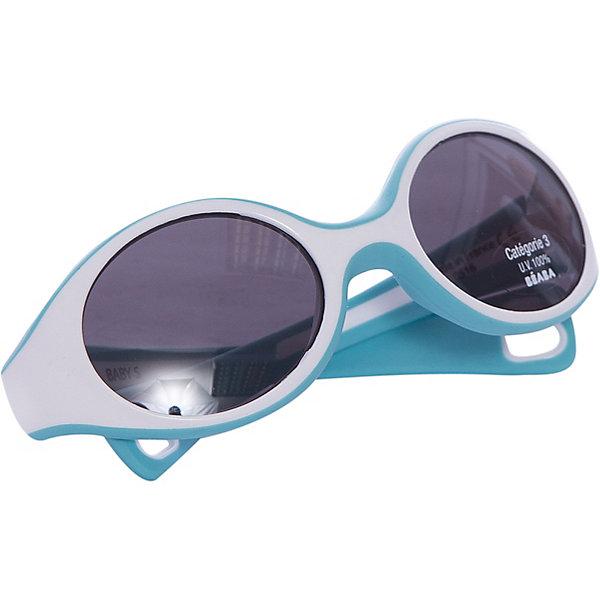 Солнцезащитные очки Sungalesses Baby 360°, р-р S, Beaba, голубойСолнцезащитные очки<br>Французская пластиковая долина: Ойонна : <br>Настоящее ноу-хау для Франции и всего мира<br>Специализированная экспертиза. Весомые аргументы для наших покупателей: <br>Дизайн, пресс-формы, и сборка – всё делается во Франции<br>Неоспоримое конкурентное преимущество над другими очками<br>Гарантия качества в мире оптики<br>Множество сертификатов. Соответствие стандартам очков ISO 12311-1   ISO 12312-1 (стандарты 2015)<br>Гибкий каркас из полипропилена и ABS <br>Короткие дужки для удержания очков в сидячей коляске.Категория 3 : сильная защита, затемнённые линзы, подходящие для отдыха на море и в горах. Новое направление стратегии B?aba : <br>Использование линз 3-й категории в наших очках (за исключением малышей с очень чувствительными глазами)<br>Стёкла пропускают 27-30% света ? дети наконец-то не пытаются снять очки ! <br>100% защита от УФ-лучей <br>Реальное конкурентное преимущество – настоящее ноу-хау благодаря техническим аспектам.<br><br>Ширина мм: 150<br>Глубина мм: 40<br>Высота мм: 80<br>Вес г: 40<br>Возраст от месяцев: 9<br>Возраст до месяцев: 18<br>Пол: Мужской<br>Возраст: Детский<br>SKU: 5543592