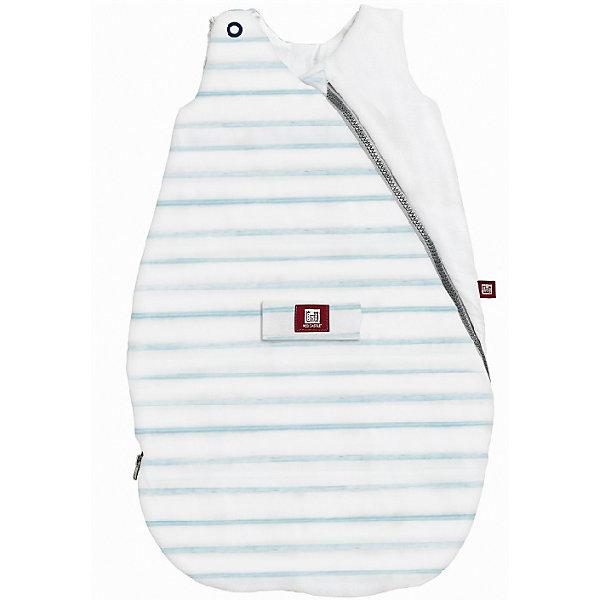 Спальный мешок Gigot Marin Ouat, 0-6 мес., Blue Pouder, Red CastleКонверты для пеленания<br>Спальные мешки Red Castle необычайно популярны у родителей, которые попробовали использовать их для сна малыша!<br>Благодаря нескольким размерам, спальные мешки прослужат ребенку первые годы. Благодаря специальной форме без рукавов, они защитят малыша от перегрева и обеспечат идеальную циркуляцию воздуха и теплообмен во время сна (очень важно, чтобы повышенная температура могла бы выходить через вырезы).<br>Одним из основных критериев и превентивных методов синдрома ВДС, которым руководствуются медики сегодня, - поддержание не слишком высокой температуры в комнате, где спит ребенок (рекомендуемая температура -  19-20°C /66.2-68° F). <br>Спальный мешок должен быть подобран исходя из температуры комнаты, в которой спит малыш и одежды, в которую он одет во время сна.<br>Предупреждение: не подбирайте спальный мешок, учитывая температуру на улице. Всегда учитывайте температуру комнаты, в которой спит ребенок и одежду, которую вы оденете под спальный мешок.<br>Например, возможно, что холодной зимой ребенку понадобится легкий спальный мешок из хлопка, так как в его комнате слишком жарко.  Так же летом в горах, несмотря на отличную погоду днем, ночью малышу может понадобиться утепленный спальный мешок.<br>Для определения, как одеть ребенка, который спит в наших спальных мешках, пожалуйста обращайтесь к таблице приведенной ниже. Два уровня регулировки длины с помощью кнопок на плечах у моделей 0-6m для лучшей адаптации под размеры ребенка.<br>Длинная молния облегчает процесс пеленания.<br>Отсутствие рукавов обеспечивает циркуляцию воздуха и предотвращает перегрев. Теплый воздух может свободно циркулировать, при перегреве, выходить наружу через вырезы для рук.<br>Ширина мм: 640; Глубина мм: 370; Высота мм: 10; Вес г: 450; Возраст от месяцев: 0; Возраст до месяцев: 6; Пол: Мужской; Возраст: Детский; SKU: 5543601;