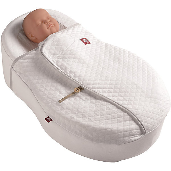 Oдеяло для Cocoonababy® Cocoonacover Ouat FDC, Red Castle, Blanc