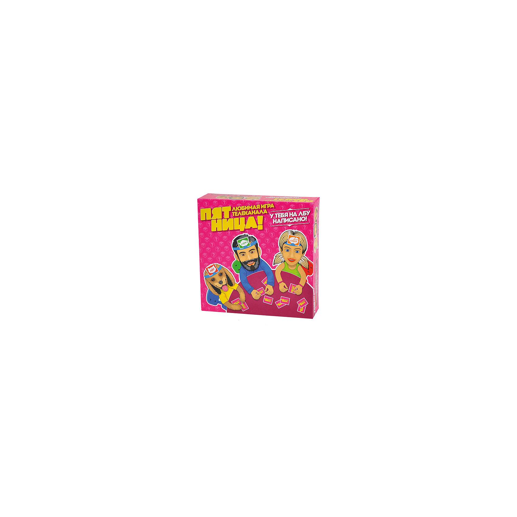 Настольная игра Пятница, МагелланНастольные игры<br>Характеристики товара:<br><br>• возраст от 10 лет<br>• материал: картон, пластик<br>• в комплекте: 194 карточки со словами, 6 карточек помощи, 6 пластиковых обручей, песочные часы на 1 минуту, правила игры<br>• количество игроков: 2-4 человек.<br>• продолжительность партии: 45-90 минут.<br>• размер упаковки 26,5х26,5х7,5 см<br>• вес упаковки 886 г.<br>• страна бренда: Россия<br>• страна производитель: Россия<br><br>Настольная игра «Пятница» Магеллан — занимательная игра для компании до 6 человек, которая позволит весело провести время. Каждый игрок надевает на голову специальный обруч, к которому крепится карточка. Все карточки перед началом игры хорошо перемешиваются, и игроки выбирают одну карточку со словом. Затем приклеивают карточку на обруч на лбу и должны отгадать, кем же они являются. Для этого предстоит задавать как можно больше вопросов другим участникам. На отгадку есть всего минута, поэтому придется поторопиться. Выиграет тот, кто угадал больше всех слов.<br><br>Настольную игру «Пятница» Магеллан можно приобрести в нашем интернет-магазине.<br><br>Ширина мм: 265<br>Глубина мм: 265<br>Высота мм: 75<br>Вес г: 886<br>Возраст от месяцев: 120<br>Возраст до месяцев: 2147483647<br>Пол: Унисекс<br>Возраст: Детский<br>SKU: 5543770