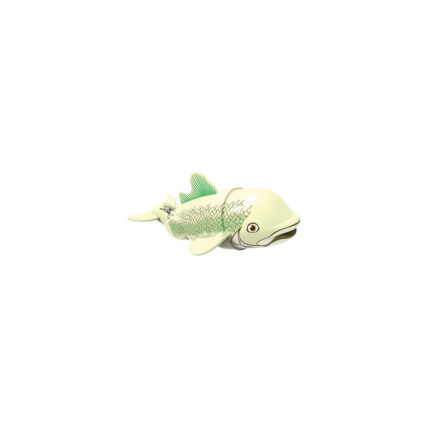 Рыбка-акробат Бубба, 12 см, Море чудесРоборыбки<br>Характеристики товара:<br><br>• возраст от 3 лет<br>• материал: пластик<br>• длина рыбки 12 см<br>• тип батареек: 3 x AAA / LR0.3 1.5 (мизинчиковые)<br>• наличие батареек: не входят в комплект<br>• размер упаковки 16х14х8,5 см<br>• вес упаковки 416 г.<br>• упаковка: блистер на картоне<br>• страна производитель: Китай<br><br>Рыбка-акробат Бубба Redwood — интерактивная игрушка для ванной, которая сделает процесс купания малыша веселым и увлекательным. Рыбка умеет плавать и нырять. Двигая плавниками и хвостом в разных направлениях, она начинает плыть. На корпусе имеется небольшое отверстие, в которое можно продеть веревочку и брать рыбку с собой на водоем. <br><br>Рыбку-акробат Бубба Redwood можно приобрести в нашем интернет-магазине.<br><br>Ширина мм: 160<br>Глубина мм: 140<br>Высота мм: 85<br>Вес г: 416<br>Возраст от месяцев: 36<br>Возраст до месяцев: 2147483647<br>Пол: Унисекс<br>Возраст: Детский<br>SKU: 5544174