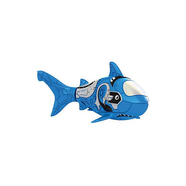 РобоРыбка Акула, голубая, ZURUИнтерактивные игрушки для малышей<br>Характеристики товара:<br><br>• возраст от 3 лет<br>• материал: пластик, резина<br>• длина рыбки 7,5 см<br>• тип батареек: 2 х А76 / LR44 (миниатюрные)<br>• наличие батареек: входят в комплект (2-в рыбке, 2-запасные)<br>• размер упаковки 20х5х6 см<br>• вес упаковки 720 г.<br>• страна бренда: Новая Зеландия<br>• страна производитель: Китай<br><br>Роборыбка Акула Zuru голубая — интерактивная занимательная игрушка, которая умеет плавать и нырять. Запустив рыбку в воду, она начнет плавать, опускаться на дно. Внутри рыбки имеется грузик, который регулирует глубину погружения на дно. Если убрать его, рыбка будет плавать по поверхности. Положите его обратно, рыбка начнет опускаться. <br><br>Роборыбку Акула Zuru голубая можно приобрести в нашем интернет-магазине.<br><br>Ширина мм: 60<br>Глубина мм: 50<br>Высота мм: 200<br>Вес г: 720<br>Возраст от месяцев: 36<br>Возраст до месяцев: 2147483647<br>Пол: Унисекс<br>Возраст: Детский<br>SKU: 5544179