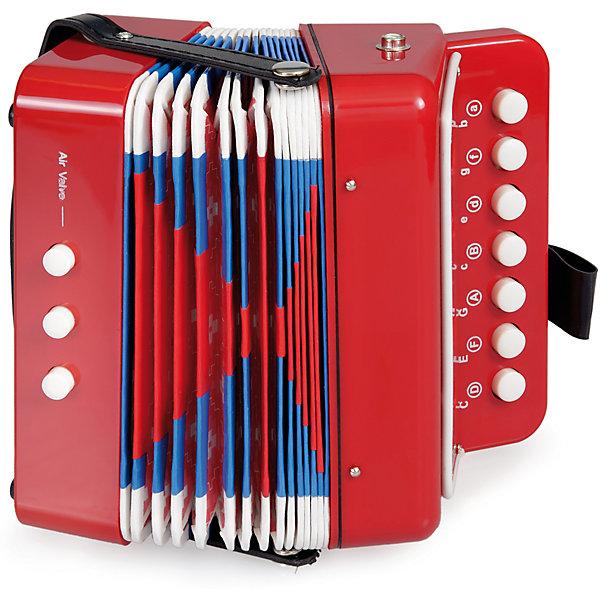 Детская игрушка Аккордеон, Egmont ToysДетские музыкальные инструменты<br>Характеристики:<br><br>• материал: дерево, металл, пластик;<br>• чистый звук;<br>• вес: 450 г;<br>• размеры: 19х11х18 см;<br><br>Детская игрушка Аккордеон, Egmont Toys (Эгмонт Тойс) – эта игрушечный музыкальный инструмент, который совмещает в себе функции и возможности настоящего музыкального инструмента.<br><br>Игрушечный музыкальный инструмент оснащен тремя кнопками и клавишами. Конструкция и расположение клавиш выполнены с учетом возрастных особенностей маленьких детей. При игре издает чистый звук без посторонних шумов.<br><br>Игрушка от Эгмонт Тойс выполнена из материалов, безопасных для здоровья детей. Корпус из сочетания пластика, металла и дерева обеспечивает игрушке долговечность и прочность. Оформлен в ярких цветах.<br><br>Детская игрушка Аккордеон, Egmont Toys предназначена не только для веселого времяпрепровождения, игры с музыкальными инструментами развивают у ребенка музыкальный слух и чувство ритма.  <br><br>Детскую игрушку Аккордеон, Egmont Toys можно купить в нашем интернет-магазине.<br><br>Ширина мм: 190<br>Глубина мм: 110<br>Высота мм: 180<br>Вес г: 450<br>Возраст от месяцев: 36<br>Возраст до месяцев: 2147483647<br>Пол: Унисекс<br>Возраст: Детский<br>SKU: 5544472