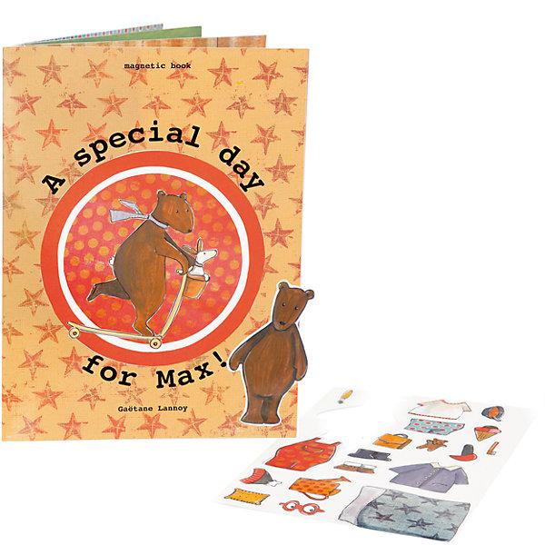 Настольная магнитная игра День медвежонка Макса, Egmont ToysНастольные игры для всей семьи<br>Характеристики:<br><br>• возраст: от 3-х лет;<br>• материал: картон, магнит;<br>• комплектация: книга с магнитными страницами, 16 деталей;<br>• количество страниц: 8<br>• размер книги: 20х27 см;<br>• вес: 280 г;<br>• размер упаковки: 20х27х5 см;<br>• упаковка: картонная коробка.<br><br>Настольная магнитная игра  «День медвежонка Макса», Egmont Toys – это книга с набором элементов, предназначенная для настольных и сюжетно-ролевых игр. <br><br>Набор состоит из книги с 8-ю магнитными страницами и 16-ти магнитных элементов. На каждой страничке нанесен один из повседневных сюжетов, который должен быть дополнен магнитными элементами.  <br><br>Настольная магнитная игра  «День медвежонка Макса», Egmont Toys – это обучающее пособие, которое позволит в легкой игровой форме познакомить ребенка с режимом дня и повседневными домашними делами. <br><br>Настольную магнитную игру  «День медвежонка Макса», Egmont Toys можно купить в нашем интернет-магазине.<br><br>Ширина мм: 200<br>Глубина мм: 270<br>Высота мм: 5<br>Вес г: 280<br>Возраст от месяцев: 36<br>Возраст до месяцев: 2147483647<br>Пол: Унисекс<br>Возраст: Детский<br>SKU: 5544496