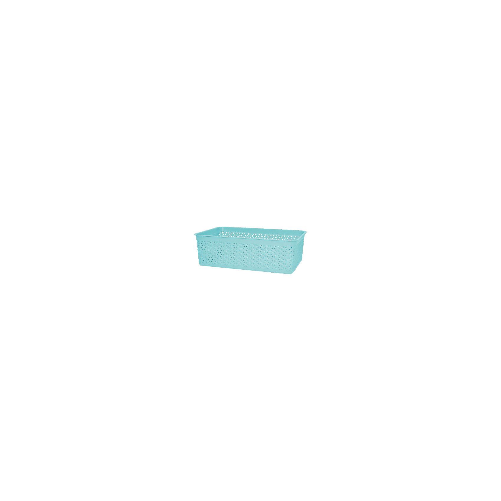 Корзинка универсальная Natural Style, BranQКухонная утварь<br>Корзинка универсальная NaturalStyle, BranQ<br><br>Характеристики:<br><br>• Вес: 157 г<br>• Размер: 25,7х15,8х8<br>• Цвет: голубой<br>• Материал: пластик<br><br>Универсальная корзинка в стиле NaturalStyle станет прекрасным дополнением к дизайну вашего дома. Она изготовлена из высококачественного цветного пластика с перфорацией и предназначена для хранения мелочей. Благодаря ее использованию, вы больше никогда не потеряете ключи или другие полезные мелочи.<br><br>Корзинка универсальная NaturalStyle, BranQ можно купить в нашем интернет-магазине.<br><br>Ширина мм: 257<br>Глубина мм: 158<br>Высота мм: 80<br>Вес г: 157<br>Возраст от месяцев: 216<br>Возраст до месяцев: 1188<br>Пол: Унисекс<br>Возраст: Детский<br>SKU: 5545595