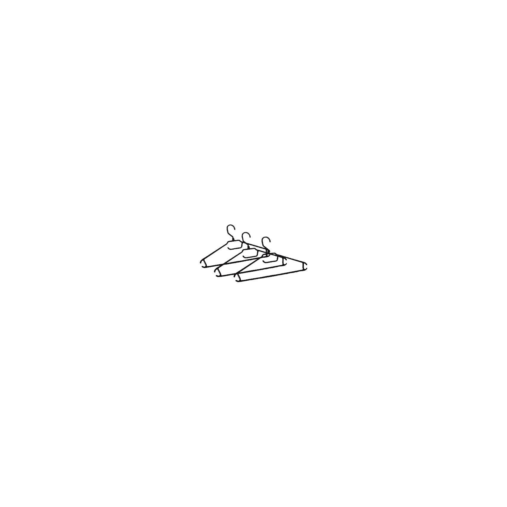 Вешалка-плечики для легкой одежды 48-50 (3 шт), BranQДетские предметы интерьера<br>Вешалка-плечики для легкой одежды 48-50 (3 шт), BranQ<br><br>Характеристики:<br><br>• Цвет: черный<br>• Материал: пластик<br>• В комплекте: 3 штуки<br><br>Каждая вешалка изготовлена из пластика высокого качества, а потому имеет повышенную прочность и не бьется. Оснащена закругленными плечиками, для предоставления более бережного хранения вашим вещам, а так же имеет перекладину и три крючка.<br><br>Вешалка-плечики для легкой одежды 48-50 (3 шт), BranQ можно купить в нашем интернет-магазине.<br><br>Ширина мм: 405<br>Глубина мм: 205<br>Высота мм: 30<br>Вес г: 184<br>Возраст от месяцев: 216<br>Возраст до месяцев: 1188<br>Пол: Унисекс<br>Возраст: Детский<br>SKU: 5545605