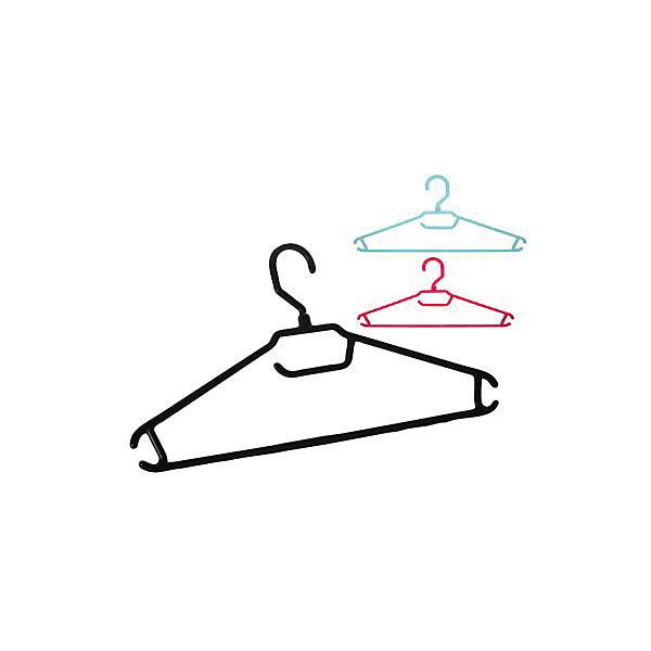 Вешалка-плечики для легкой одежды 48-50, BranQДетские предметы интерьера<br>Вешалка-плечики для легкой одежды 48-50, BranQ<br><br>Характеристики:<br><br>• Цвет: черный, розовый, голубой<br>• Материал: пластик<br>• В комплекте: 3 штуки<br>• Размер одежды: 48-50<br><br>Каждая вешалка изготовлена из пластика высокого качества, а потому имеет повышенную прочность и не бьется. Оснащена закругленными плечиками, для предоставления более бережного хранения вашим вещам, а так же имеет перекладину и три крючка.<br><br>Вешалка-плечики для легкой одежды 48-50, BranQ можно купить в нашем интернет-магазине.<br><br>Ширина мм: 405<br>Глубина мм: 205<br>Высота мм: 10<br>Вес г: 62<br>Возраст от месяцев: 216<br>Возраст до месяцев: 1188<br>Пол: Унисекс<br>Возраст: Детский<br>SKU: 5545607
