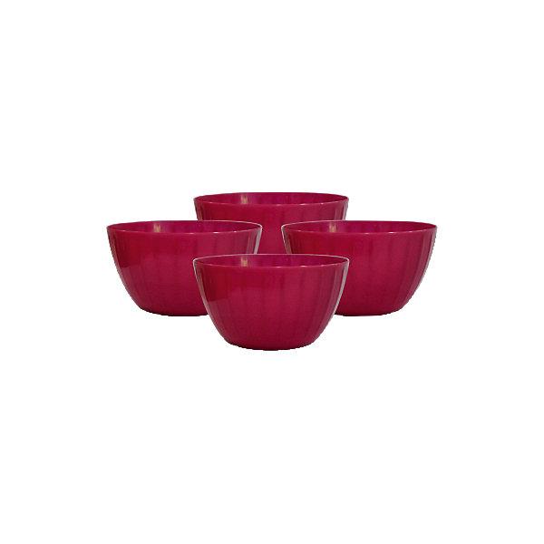 Набор салатников Fiesta 0,6 л (4 шт.), GiarettiДетская посуда<br>Набор салатников Fiesta 0,6 л (4 шт.), Giaretti<br><br>Характеристики:<br><br>• Цвет: красный<br>• Материал: пластик<br>• В комплекте: 4 штуки<br>• Объем: 0,6 литра<br><br>Благодаря яркому интересному дизайну эти салатницы можно использовать как для приготовления блюд, так и для их подачи на стол. Салатницы имеют литраж 0,6 л и могут использоваться для порционной подачи блюда гостям. Благодаря своей форме, идеально помещаются друг в друга и обеспечивают удобство хранения. Изготовлены из высококачественного пластика.<br><br>Набор салатников Fiesta 0,6 л (4 шт.), Giaretti можно купить в нашем интернет-магазине.<br><br>Ширина мм: 124<br>Глубина мм: 124<br>Высота мм: 120<br>Вес г: 178<br>Возраст от месяцев: 216<br>Возраст до месяцев: 1188<br>Пол: Унисекс<br>Возраст: Детский<br>SKU: 5545613