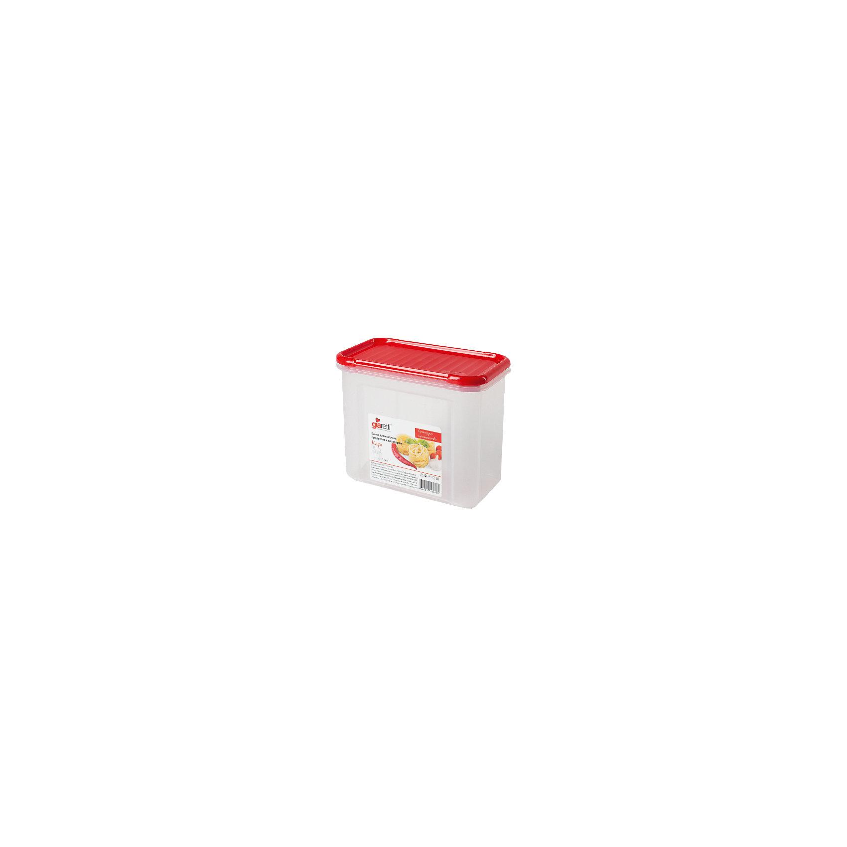 Банка для сыпучих продуктов Krupa 1 л, GiarettiПосуда<br>Банка для сыпучих продуктов Krupa 1 л, Giaretti<br><br>Характеристики:<br><br>• Материал: пластик<br>• В комплекте: 1 штука<br>• Объем: 1 литр<br>• Используется: для сыпучих продуктов<br><br>Банки данной серии снабжены плотной крышкой, благодаря чему в них удобно хранить даже специи, ведь они не пропускают запаха. Так же банка может использоваться для хранения сыпучих продуктов - круп, сахара, макарон и тд. Благодаря тому, что изделие изготовлено из высококачественного пищевого пластика, оно не влияет на вкус и запах хранящихся продуктов, а удобная форма позволят хранить не использующиеся банки, ставя их друг в друга для экономии пространства.<br><br>Банка для сыпучих продуктов Krupa 1 л, Giaretti можно купить в нашем интернет-магазине.<br><br>Ширина мм: 163<br>Глубина мм: 87<br>Высота мм: 131<br>Вес г: 147<br>Возраст от месяцев: 216<br>Возраст до месяцев: 1188<br>Пол: Унисекс<br>Возраст: Детский<br>SKU: 5545630