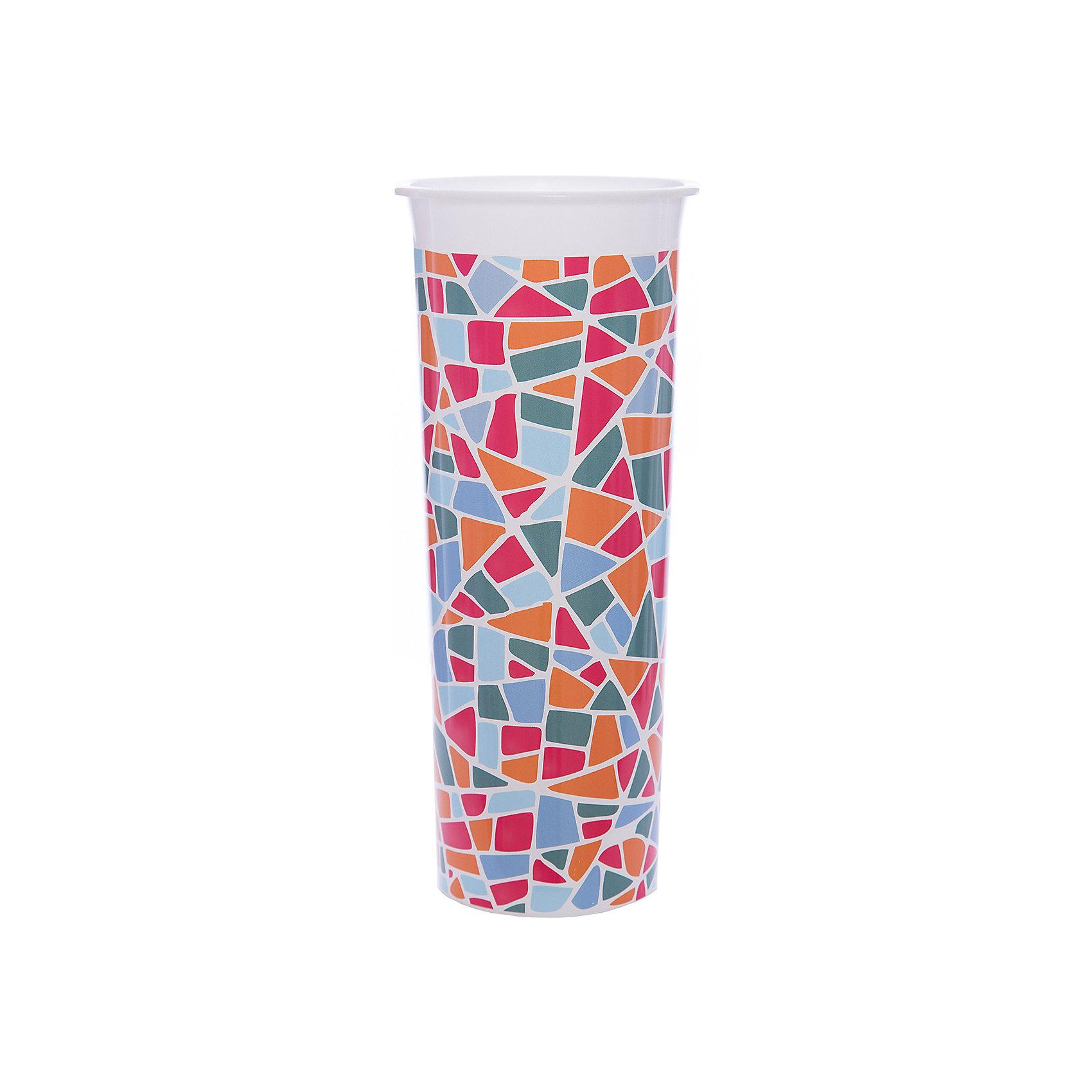 Ваза для цветов Модерн D 112 mm, INGREENПредметы интерьера<br>Ваза для цветов Модерн D 112 mm, INGREEN<br><br>Характеристики:<br><br>• Материал: пластик<br>• В комплекте: 1 штука<br>• Размер: 112х112х260 мм<br>• Вес: 111 г<br><br>Вазы от ТМ InGreen - яркое стилистическое решение для вашего дома или квартиры. Рисунки и узоры на вазе созданы по технологии IML, что обеспечивает им высокую точность, яркость, а итоговое изделие выглядит единым с нанесенным рисунком. Это не только эстетично выглядит, но и придает изделию дополнительную прочность.<br><br>Ваза для цветов Модерн D 112 mm, INGREEN можно купить в нашем интернет-магазине.<br><br>Ширина мм: 112<br>Глубина мм: 112<br>Высота мм: 260<br>Вес г: 111<br>Возраст от месяцев: 216<br>Возраст до месяцев: 1188<br>Пол: Унисекс<br>Возраст: Детский<br>SKU: 5545638