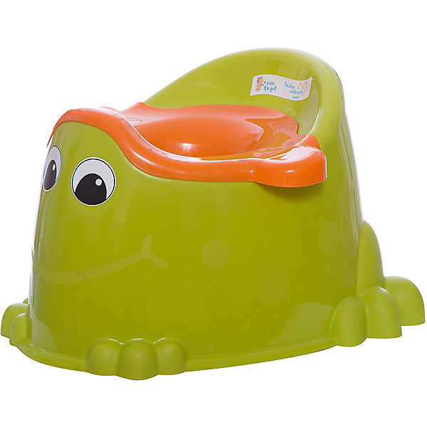 Горшок детский Лягушонок со вставкой, Little AngelДетские горшки<br>Горшок детский Лягушонок со вставкой, LittleAngel<br><br>Характеристики:<br><br>• Материал: пластик<br>• Цвет: зеленый<br>• В комплекте: 1 штука<br>• Дополнительно: защита от брызг<br><br>Самое важное в предметах для ухода за детьми - это их безопасность для здоровья. Поэтому и данный горшок изготовлен из высококачественного пластика, который устойчив к любым химическим и моющим средствам, не бьется и оснащен защитой от брызг. Горшок имеет эргономичную форму, прочные ножки и удобные ручки, которые позволяют легко его транспортировать.<br><br>Горшок детский Лягушонок со вставкой, LittleAngel можно купить в нашем интернет-магазине.<br><br>Ширина мм: 358<br>Глубина мм: 334<br>Высота мм: 240<br>Вес г: 647<br>Возраст от месяцев: 216<br>Возраст до месяцев: 1188<br>Пол: Унисекс<br>Возраст: Детский<br>SKU: 5545648