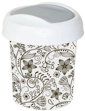 Контейнер для мусора Ориджинал 1 л декор кружева, Svip