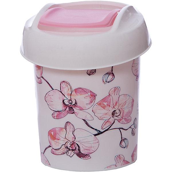Контейнер для мусора Ориджинал 1 л декор орхидеи, SvipМусорные ведра<br>Контейнер для мусора Ориджинал 1 л декор орхидеи, Svip<br><br>Характеристики:<br><br>• Материал: пластик<br>• Цвет: розовый<br>• В комплекте: 1 штука<br>• Размер: 130х130х155 мм<br>• Объем: 1 литр<br><br>Этот практичный миниатюрный контейнер для мусора можно разместить прямо на кухонном или рабочем столе, а так же в ванной комнате. Он оснащен крышкой-маятником и съемной верхней частью для более удобного использования. Все части контейнера скреплены между собой и легко снимаются при необходимости. Использование этого контейнера поможет с легкостью поддержать чистоту и порядок в вашем доме.<br><br>Контейнер для мусора Ориджинал 1 л декор орхидеи, Svip можно купить в нашем интернет-магазине.<br><br>Ширина мм: 130<br>Глубина мм: 130<br>Высота мм: 155<br>Вес г: 100<br>Возраст от месяцев: 216<br>Возраст до месяцев: 1188<br>Пол: Унисекс<br>Возраст: Детский<br>SKU: 5545660
