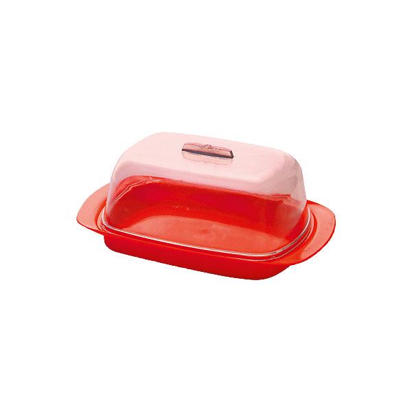 Масленка малая, Plastic CentreКухонная утварь<br>Масленка малая, PlasticCentre<br><br>Характеристики:<br><br>• Материал: пластик<br>• Цвет: красная<br>• В комплекте: 1 штука<br>• Размер: 17х7х11,5 см<br><br>Эта удобная масленка станет прекрасным дополнением к стилю вашей кухни. Масленка имеет лаконичный дизайн и приятную цветовую гамму, а так же снабжена удобной крышкой, которая не пропускает запахи. Она изготовлена из высококачественных материалов, которые не влияют на вкус и запах хранящихся в ней продуктов.<br><br>Масленка малая, PlasticCentre можно купить в нашем интернет-магазине<br>Ширина мм: 170; Глубина мм: 70; Высота мм: 115; Вес г: 106; Возраст от месяцев: 216; Возраст до месяцев: 1188; Пол: Унисекс; Возраст: Детский; SKU: 5545666;
