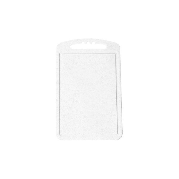 Доска разделочная малая, Plastic CentreКухонная утварь<br>Доска разделочная малая, Plastic Centre<br><br>Характеристики:<br><br>• Цвет: зеленый<br>• Материал: пластик<br>• В комплекте: 1 штука<br>• Размер: 24х15 см<br><br>Эти компактные разделочные доски позволят вам легко навести порядок на вашей кухне и не отвлекаться на мелочи. Доска оснащена специальным желобком, который поможет слить стекающую воду, не потревожив продукты. Изготовлены они из высококачественного пищевого пластика, который безопасен  для здоровья. Доска устойчива к запахам и порезам от ножа.<br><br>Доска разделочная малая, Plastic Centre можно купить в нашем интернет-магазине<br><br>Ширина мм: 240<br>Глубина мм: 150<br>Высота мм: 4<br>Вес г: 96<br>Возраст от месяцев: 216<br>Возраст до месяцев: 1188<br>Пол: Унисекс<br>Возраст: Детский<br>SKU: 5545668