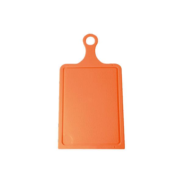 Доска разделочная №2, Plastic CentreКухонная утварь<br>Доска разделочная №2, Plastic Centre<br><br>Характеристики:<br><br>• Цвет: оранжевый<br>• Материал: пластик<br>• В комплекте: 1 штука<br>• Размер: 43х22 см<br><br>Хорошие разделочные доски позволят вам легко навести порядок на вашей кухне и не отвлекаться на мелочи. Эта доска оснащена специальным желобком, который поможет слить стекающую воду, не потревожив продукты. Изготовлены они из высококачественного пищевого пластика, который безопасен  для здоровья. Доска устойчива к запахам и порезам от ножа.<br><br>Доска разделочная №2, Plastic Centre можно купить в нашем интернет-магазине.<br>Ширина мм: 430; Глубина мм: 220; Высота мм: 6; Вес г: 359; Возраст от месяцев: 216; Возраст до месяцев: 1188; Пол: Унисекс; Возраст: Детский; SKU: 5545670;