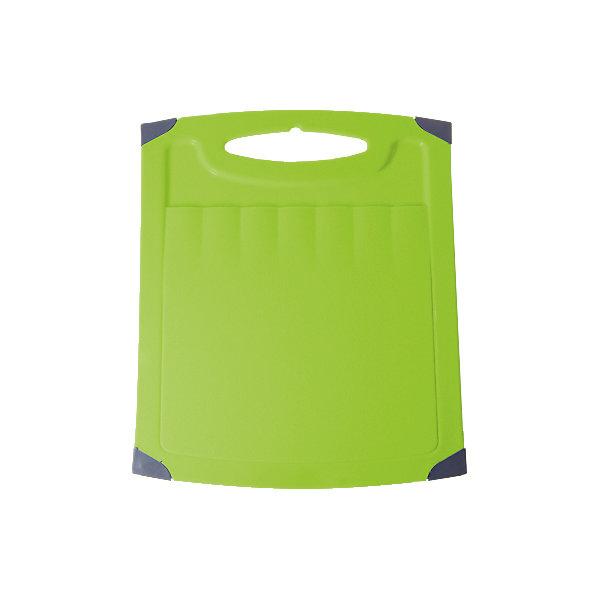 Доска разделочная Люкс №3, Plastic CentreКухонная утварь<br>Доска разделочная Люкс №3, Plastic Centre<br><br>Характеристики:<br><br>• Цвет: зеленый<br>• Материал: пластик<br>• В комплекте: 1 штука<br>• Размер: 36х28 см<br><br>Хорошие разделочные доски позволят вам легко навести порядок на вашей кухне и не отвлекаться на мелочи. Эта доска оснащена специальным желобком, который поможет слить стекающую воду, не потревожив продукты. Изготовлены они из высококачественного пищевого пластика, который безопасен  для здоровья. Доска устойчива к запахам и порезам от ножа. Стильный дизайн не оставит равнодушным никого.<br><br>Доска разделочная Люкс №3, Plastic Centre можно купить в нашем интернет-магазине.<br>Ширина мм: 360; Глубина мм: 280; Высота мм: 6; Вес г: 465; Возраст от месяцев: 216; Возраст до месяцев: 1188; Пол: Унисекс; Возраст: Детский; SKU: 5545679;