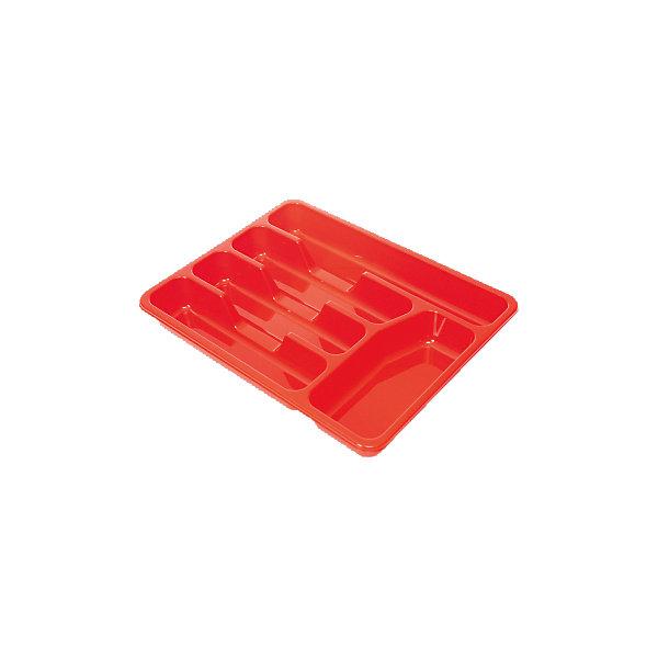 Лоток для столовых приборов, Plastic CentreДетская посуда<br>Лоток для столовых приборов, Plastic Centre<br><br>Характеристики:<br><br>• Материал: пластик<br>• Цвет: красный<br>• В комплекте: 1 штука<br>• Размер: 33х26х4 см<br><br>Эта удобная сушилка-лоток для столовых приборов позволит вам держать ящики для их хранения в полном порядке. Сушилка состоит из нескольких секций и сделана из высококачественного пластика, который не бьется и устойчив к царапинам. Изделие легко моется и с его помощью вы легко сохраните порядок на вашей кухне.<br><br>Лоток для столовых приборов, Plastic Centre можно купить в нашем интернет-магазине.<br><br>Ширина мм: 330<br>Глубина мм: 260<br>Высота мм: 43<br>Вес г: 166<br>Возраст от месяцев: 216<br>Возраст до месяцев: 1188<br>Пол: Унисекс<br>Возраст: Детский<br>SKU: 5545682