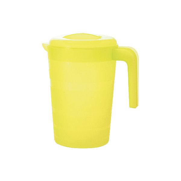 Кувшин для воды  Фазенда 2л, Plastic CentreКухонная утварь<br>Кувшин для воды Фазенда 2л, Plastic Centre<br><br>Характеристики:<br><br>• Материал: пластик<br>• Цвет: желтый<br>• В комплекте: 1 штука<br>• Объем: 2 литра<br><br>Кувшин подойдет для хранения соков или воды. Крепкая и очень удобная ручка делает процесс наливания воды доступным даже для детей. Красивый дизайн кувшина, форма и его цвет позволят ему вписаться в любой интерьер. Сделан кувшин из прочного пластика, которые не выделяет вредных веществ и не отражается на вкусе воды.<br><br>Кувшин для воды Фазенда 2л, Plastic Centre можно купить в нашем интернет-магазине.<br><br>Ширина мм: 205<br>Глубина мм: 150<br>Высота мм: 225<br>Вес г: 186<br>Возраст от месяцев: 216<br>Возраст до месяцев: 1188<br>Пол: Унисекс<br>Возраст: Детский<br>SKU: 5545688