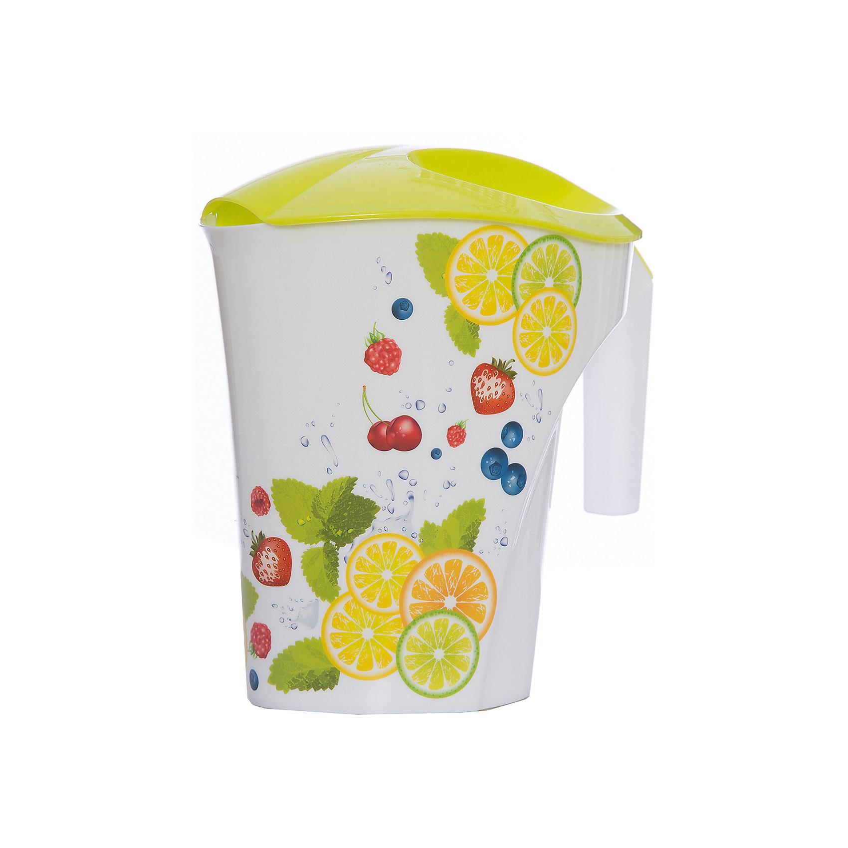 Кувшин Фрукты 3 л, Plastic CentreПосуда<br>Кувшин Фрукты 3 л, Plastic Centre<br><br>Характеристики:<br><br>• Материал: пластик<br>• Цвет: желтый<br>• В комплекте: 1 штука<br>• Объем: 2 литра<br><br>Кувшин подойдет для хранения соков или воды. Крепкая и очень удобная ручка делает процесс наливания воды доступным даже для детей. Красивый дизайн кувшина, форма и его цвет позволят ему вписаться в любой интерьер. Сделан кувшин из прочного пластика, которые не выделяет вредных веществ и не отражается на вкусе воды.<br><br>Кувшин Фрукты 3 л, Plastic Centre можно купить в нашем интернет-магазине.<br><br>Ширина мм: 248<br>Глубина мм: 155<br>Высота мм: 235<br>Вес г: 242<br>Возраст от месяцев: 216<br>Возраст до месяцев: 1188<br>Пол: Унисекс<br>Возраст: Детский<br>SKU: 5545697